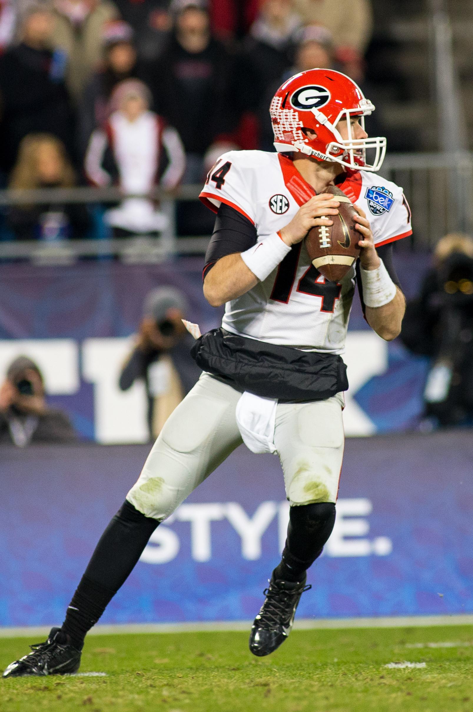 NCAA FOOTBALL: DEC 30 Belk Bowl - Georgia v Louisville