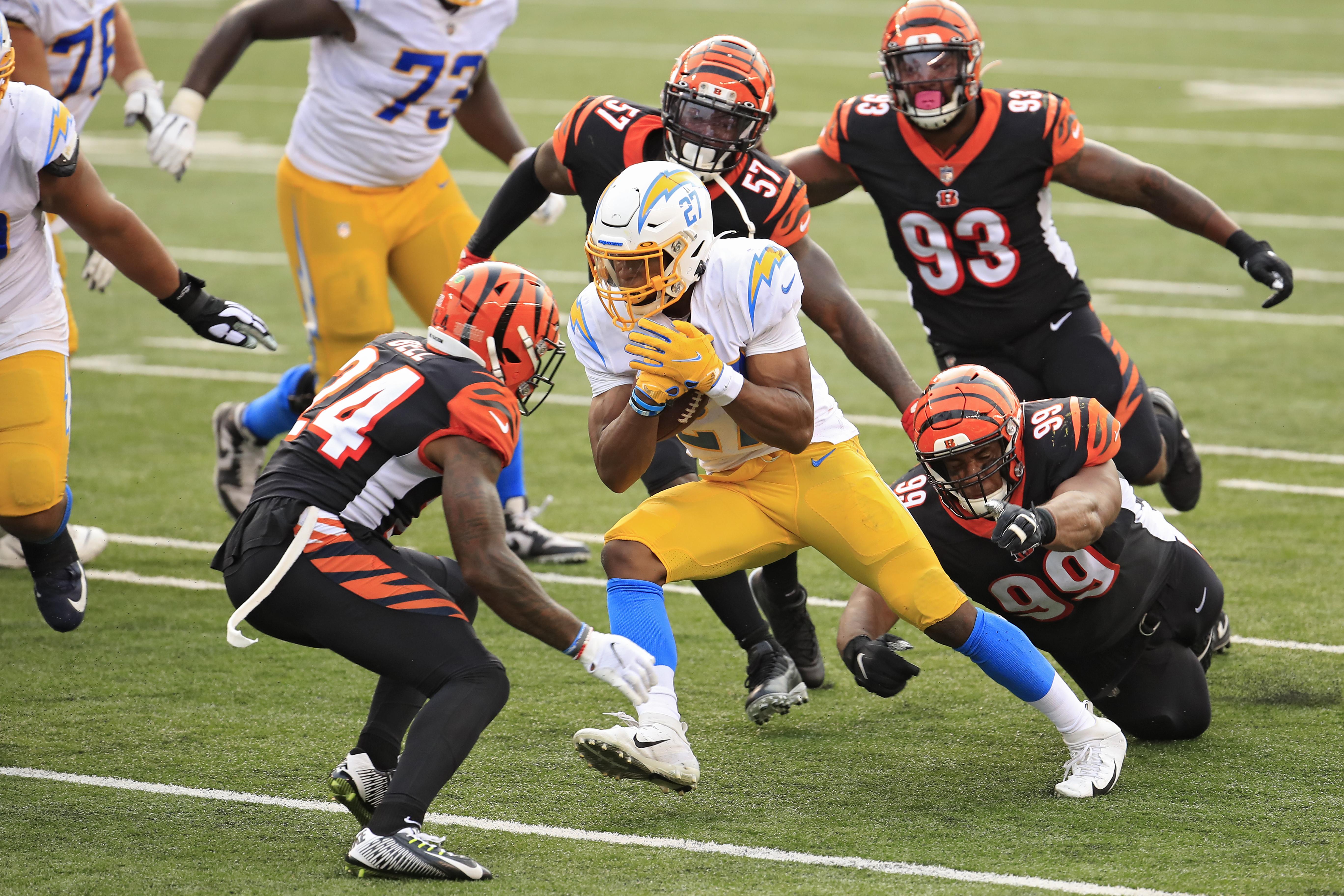 Los Angeles Chargers v Cincinnati Bengals