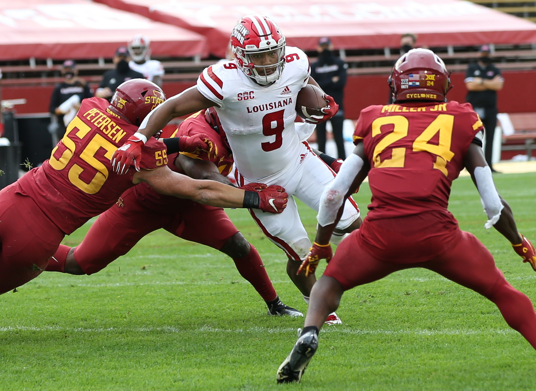 NCAA Football: UL Lafayette at Iowa State