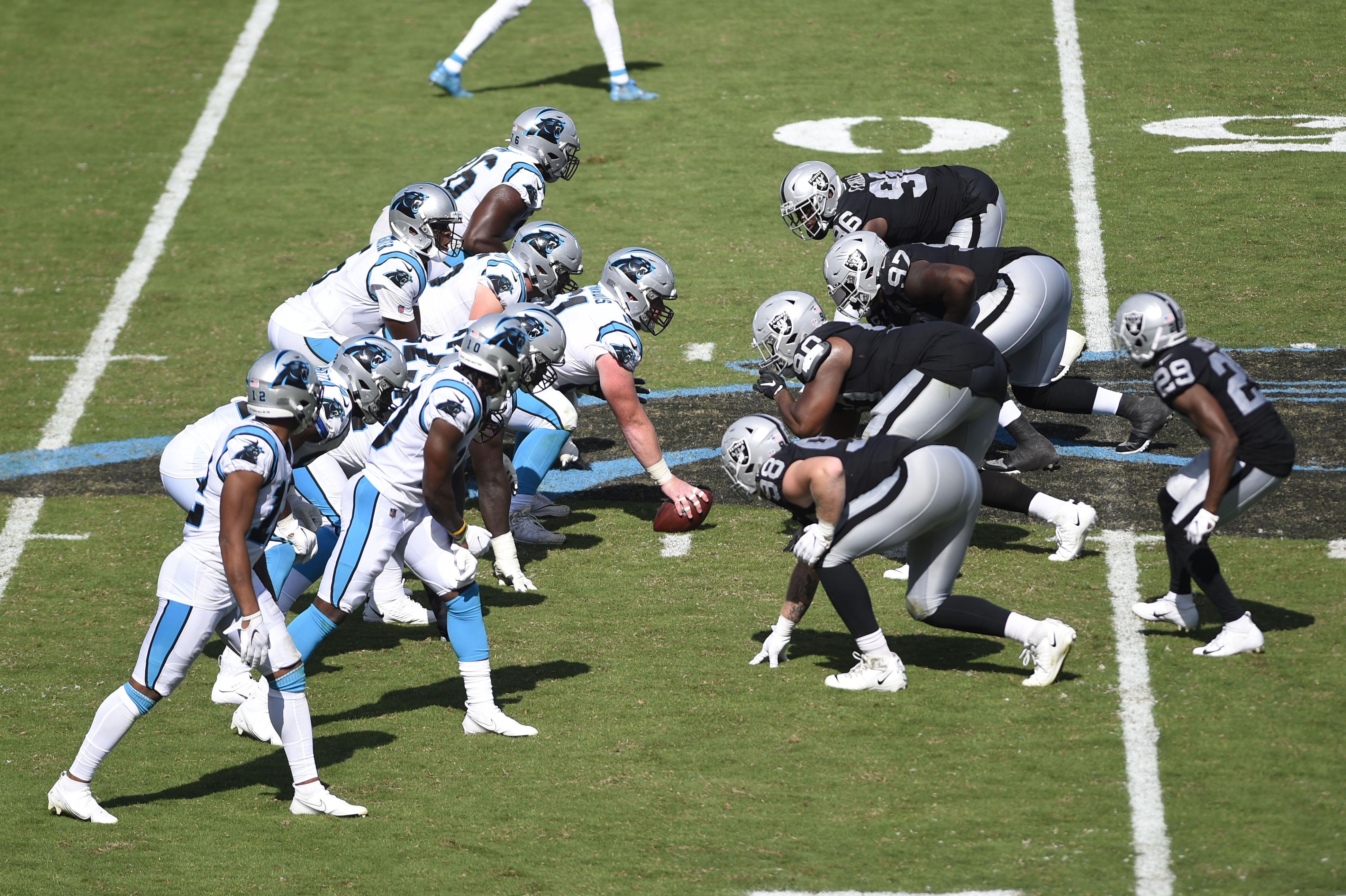 NFL: Oakland Raiders at Carolina Panthers
