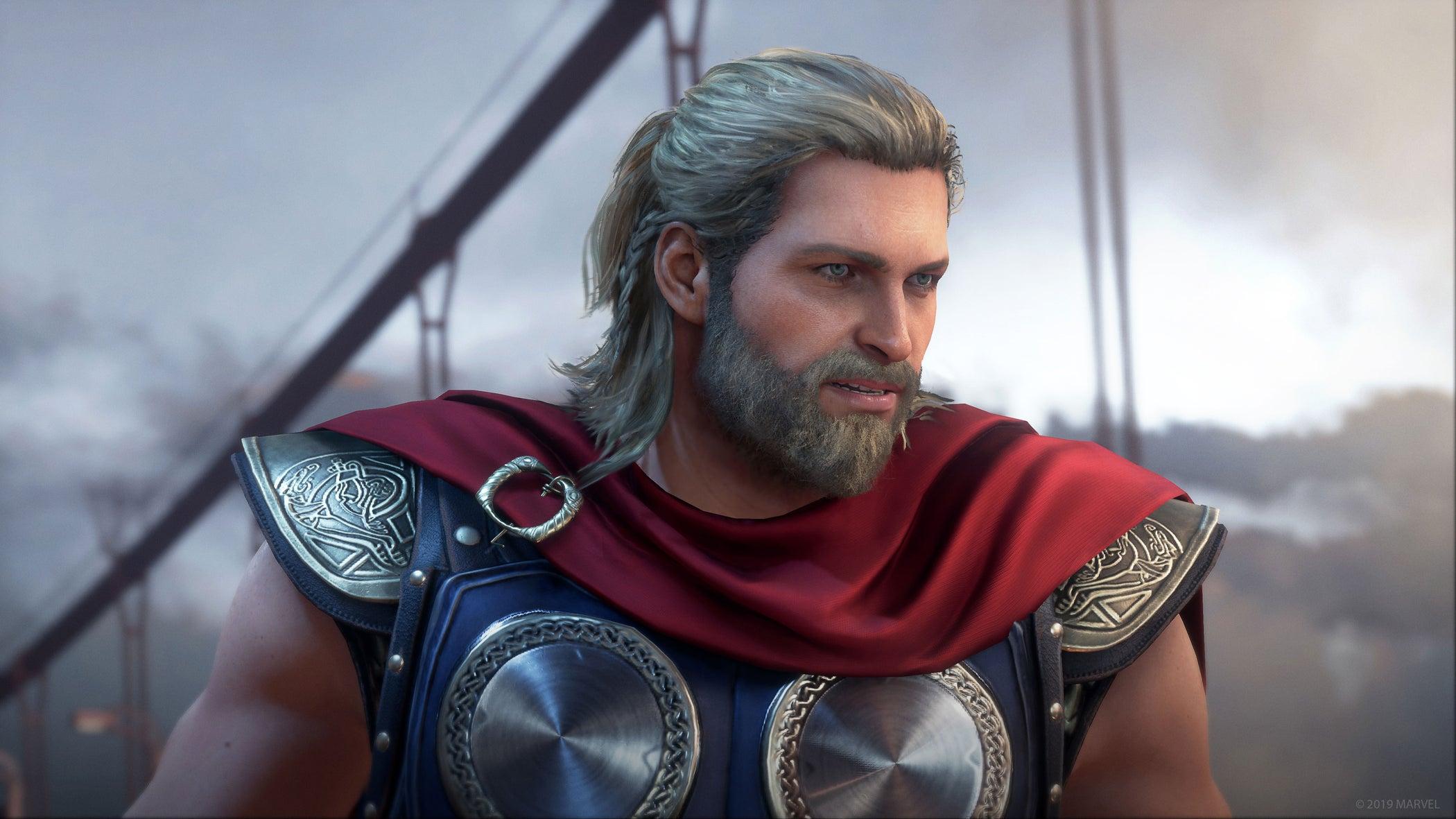 Thor headshot Marvel's Avengers