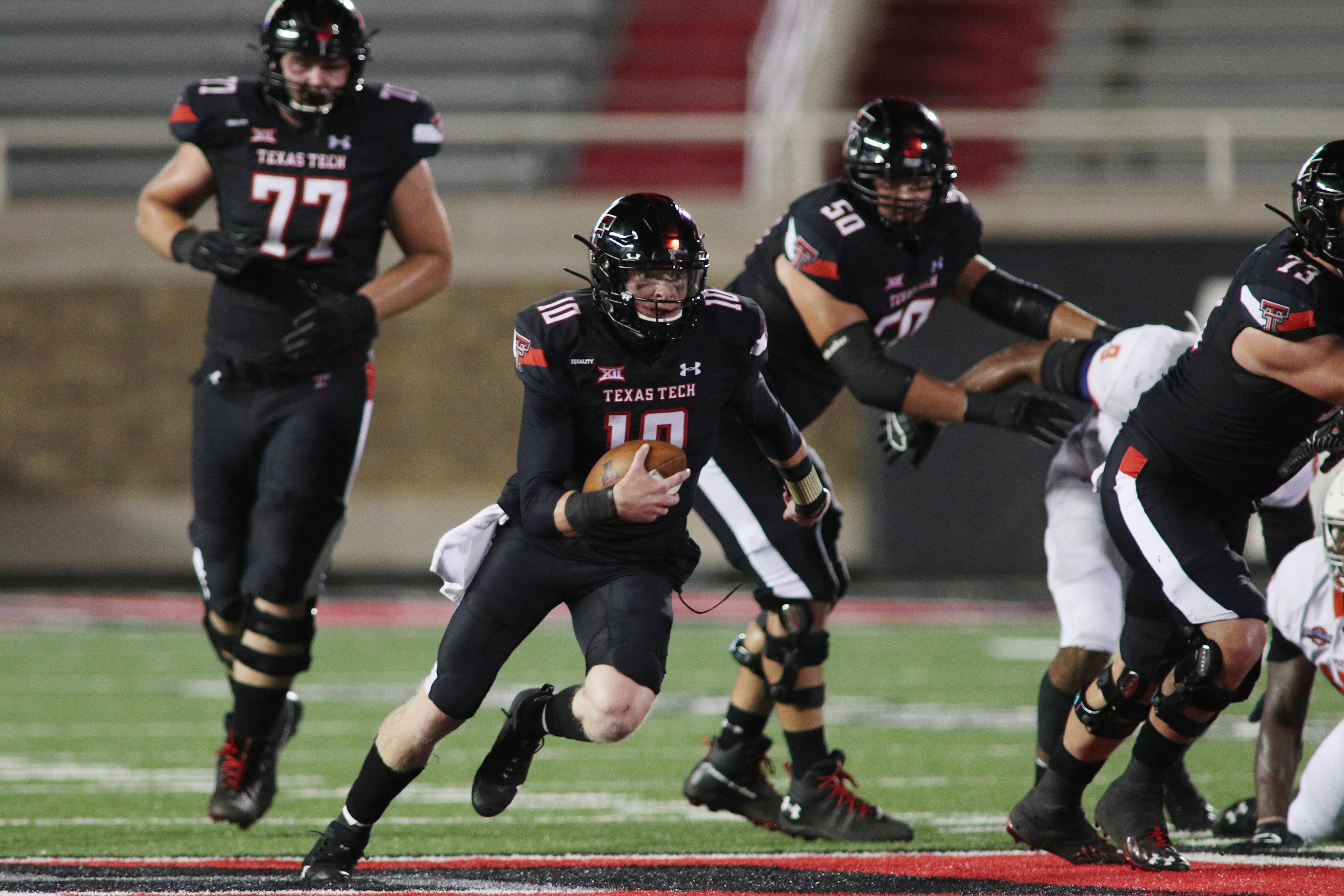 NCAA Football: Houston Baptist at Texas Tech