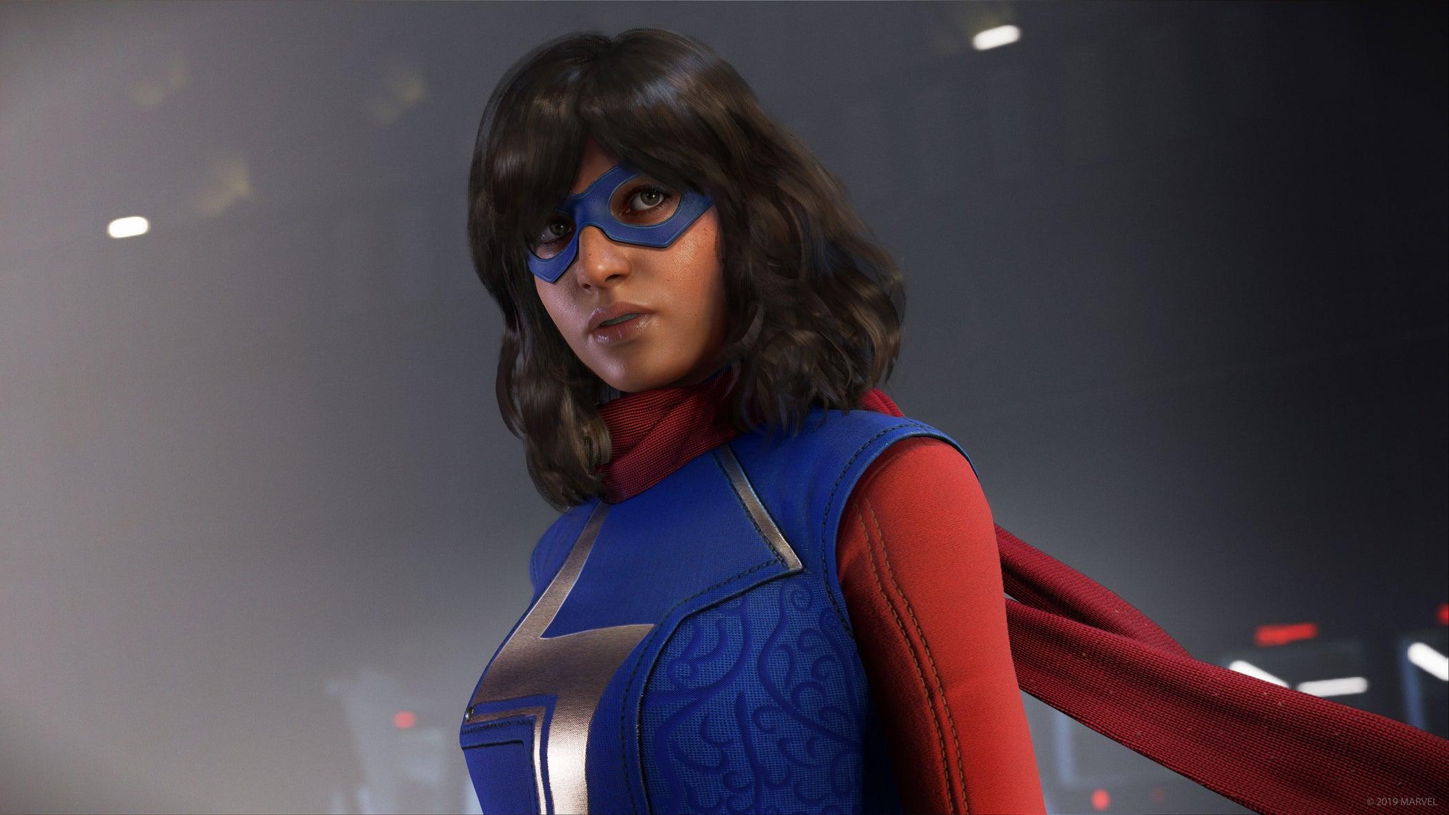 Ms. Marvel headshot Marvel's Avengers