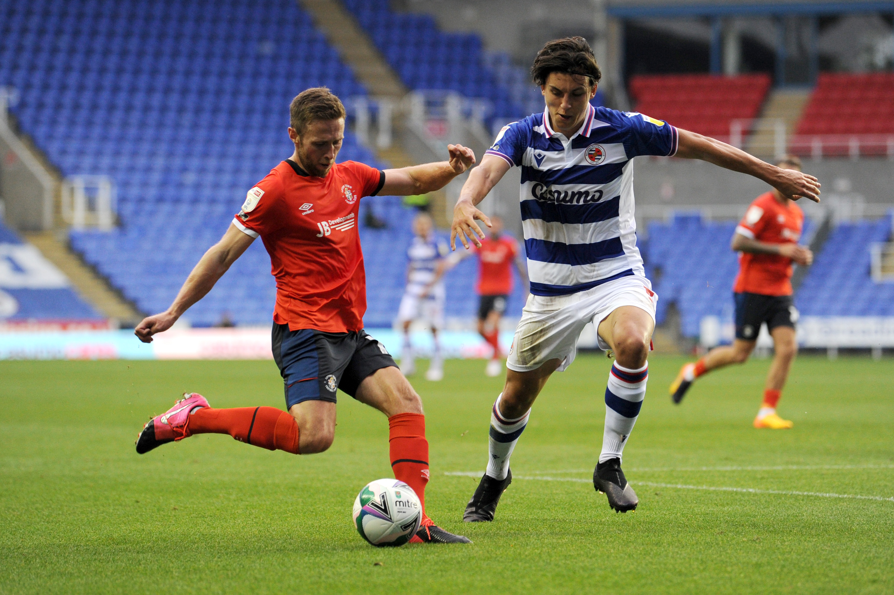Reading v Luton Town - Carabao Cup Second Round