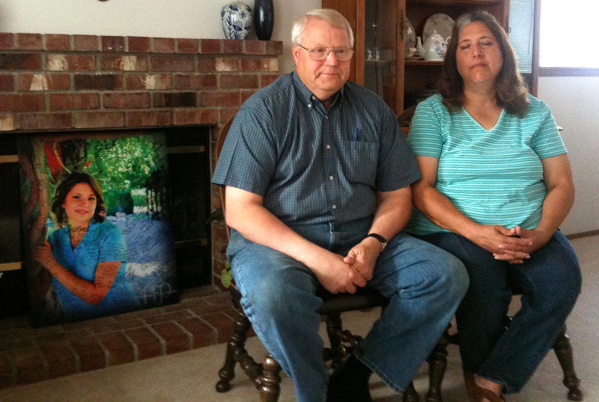 Chuck and Judy Cox talk about their daughter, Susan Powell, in Washington in this 2011 file photo.