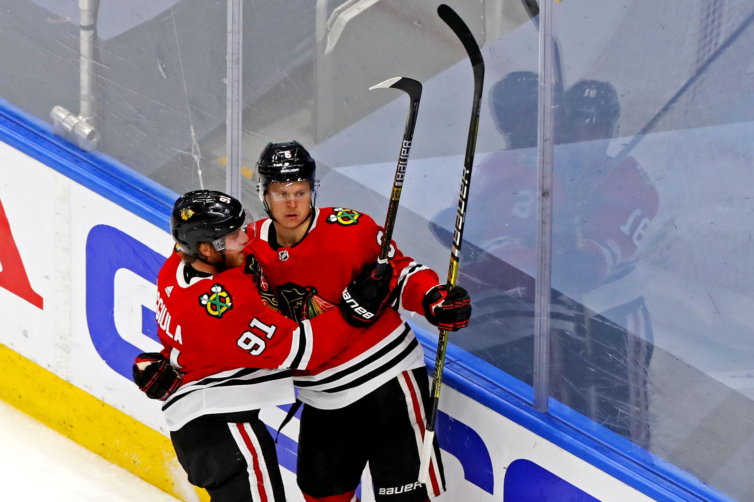 NHL: Stanley Cup Playoffs-Vegas Golden Knights at Chicago Blackhawks