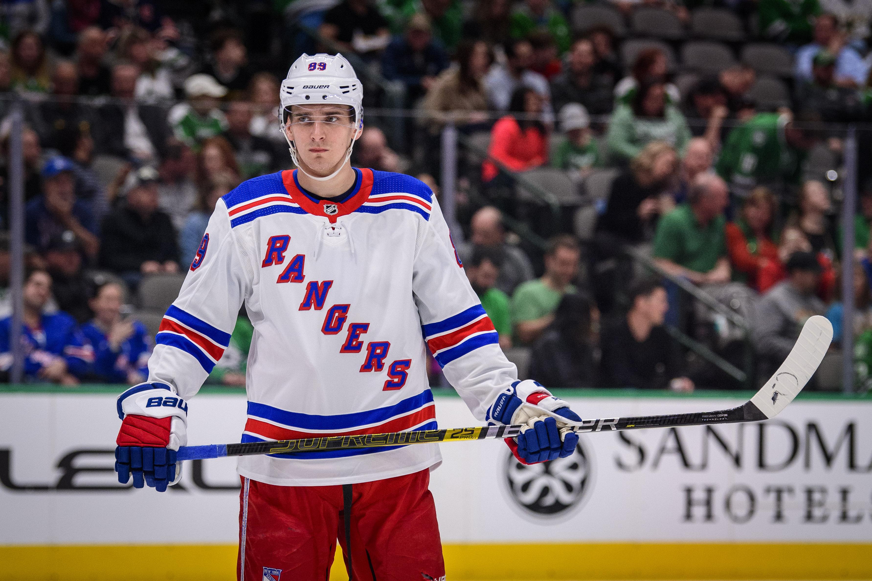 NHL: New York Rangers at Dallas Stars
