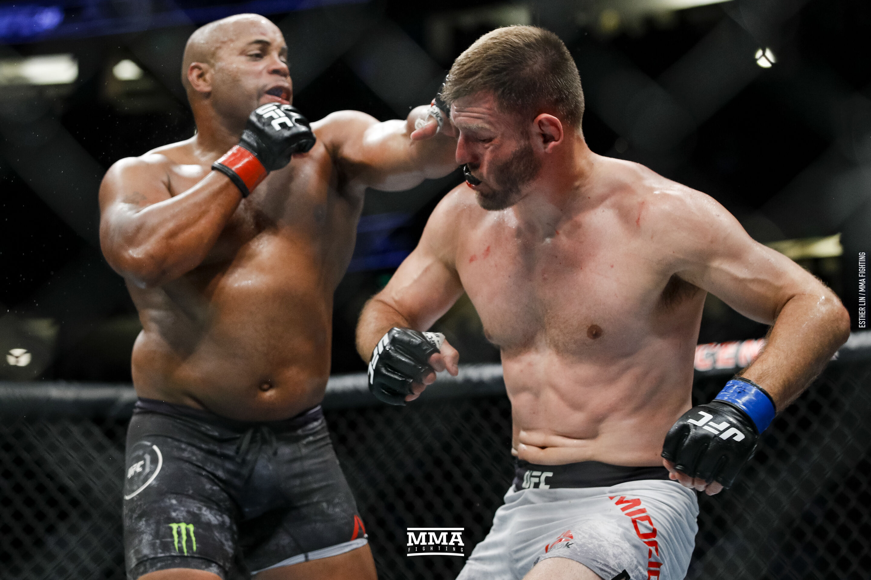 Daniel Cormier and Stipe Miocic