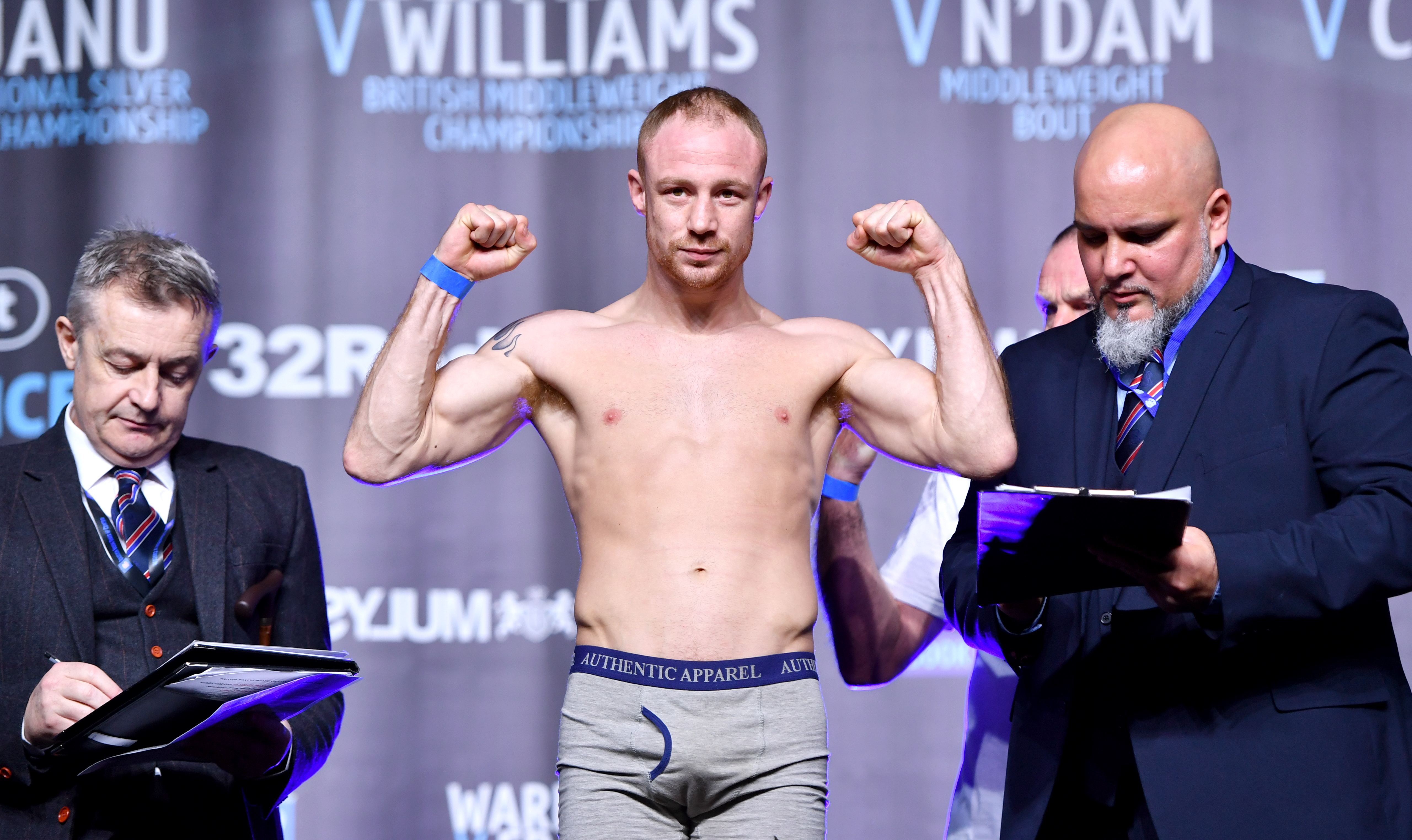 Josh Warrington and Carl Frampton Weigh In - Manchester Central