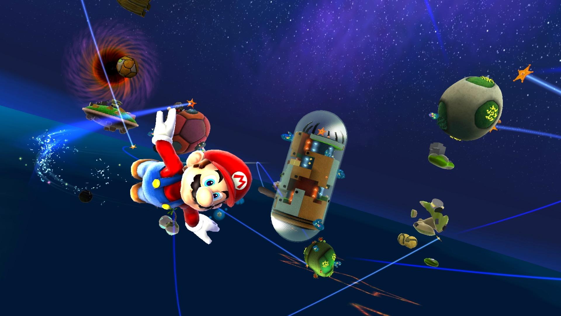 Super Mario Galaxy: Every hidden star