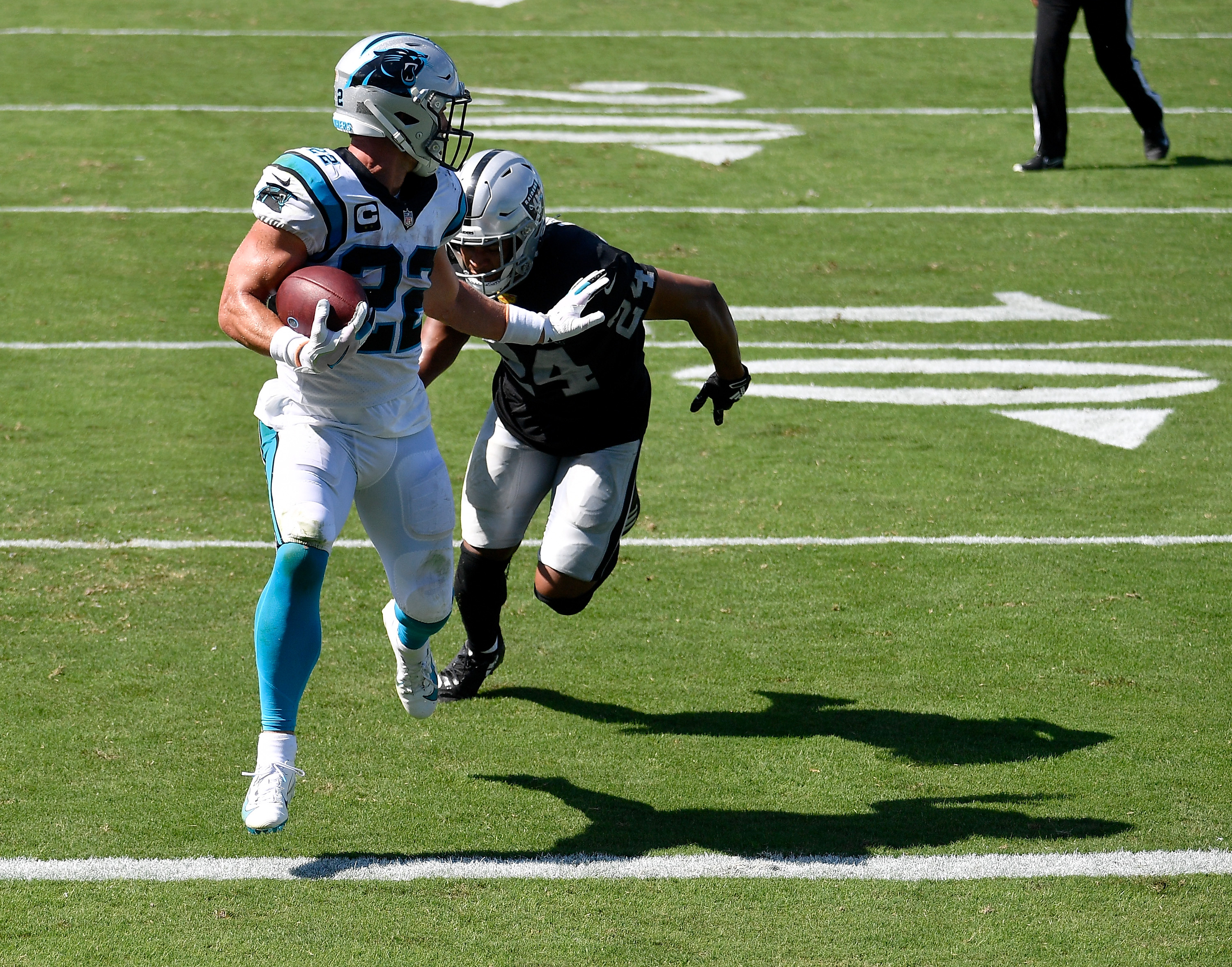 Las Vegas Raiders v Carolina Panthers