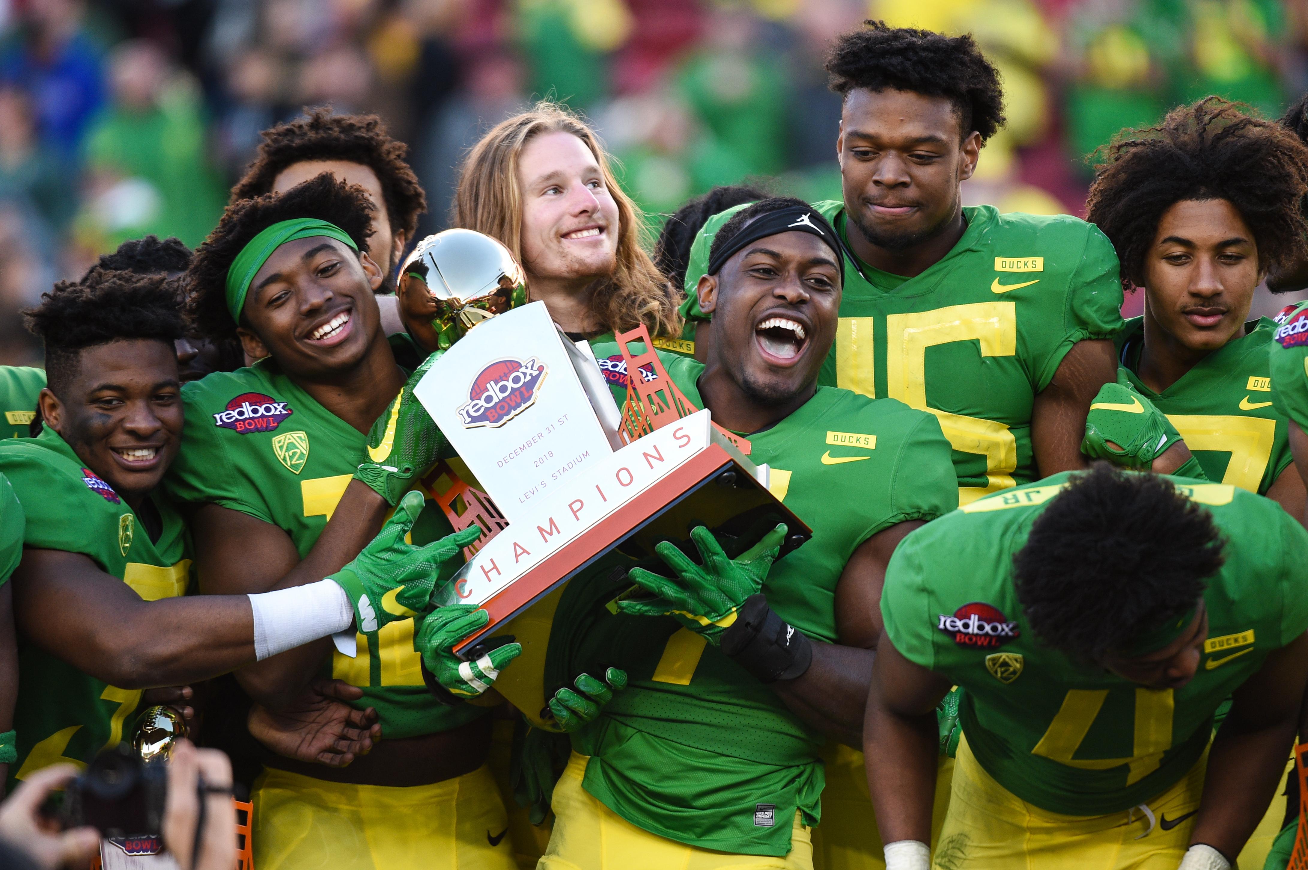 COLLEGE FOOTBALL: DEC 31 Redbox Bowl - Michigan State v Oregon