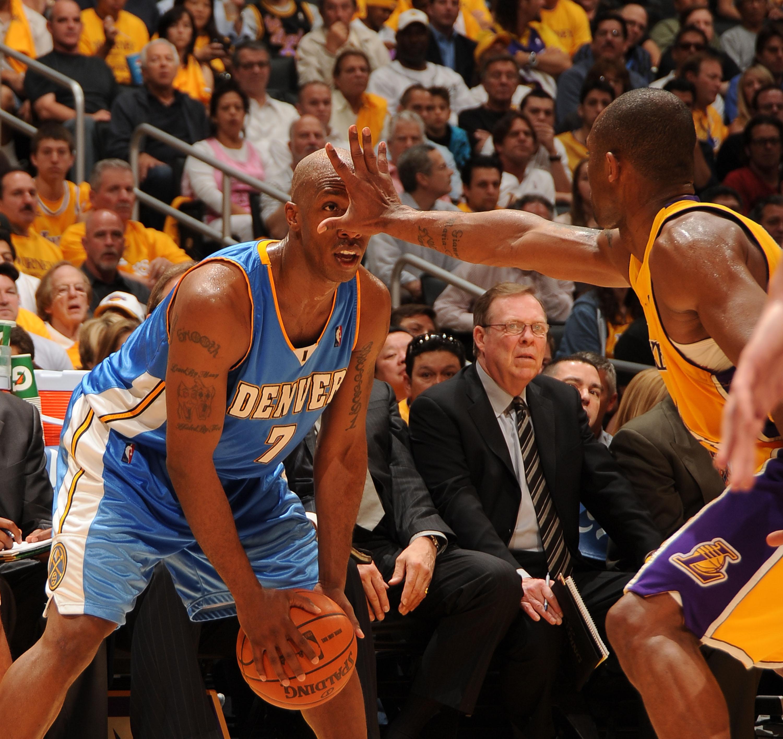 Denver Nuggets v Los Angeles Lakers, Game 1