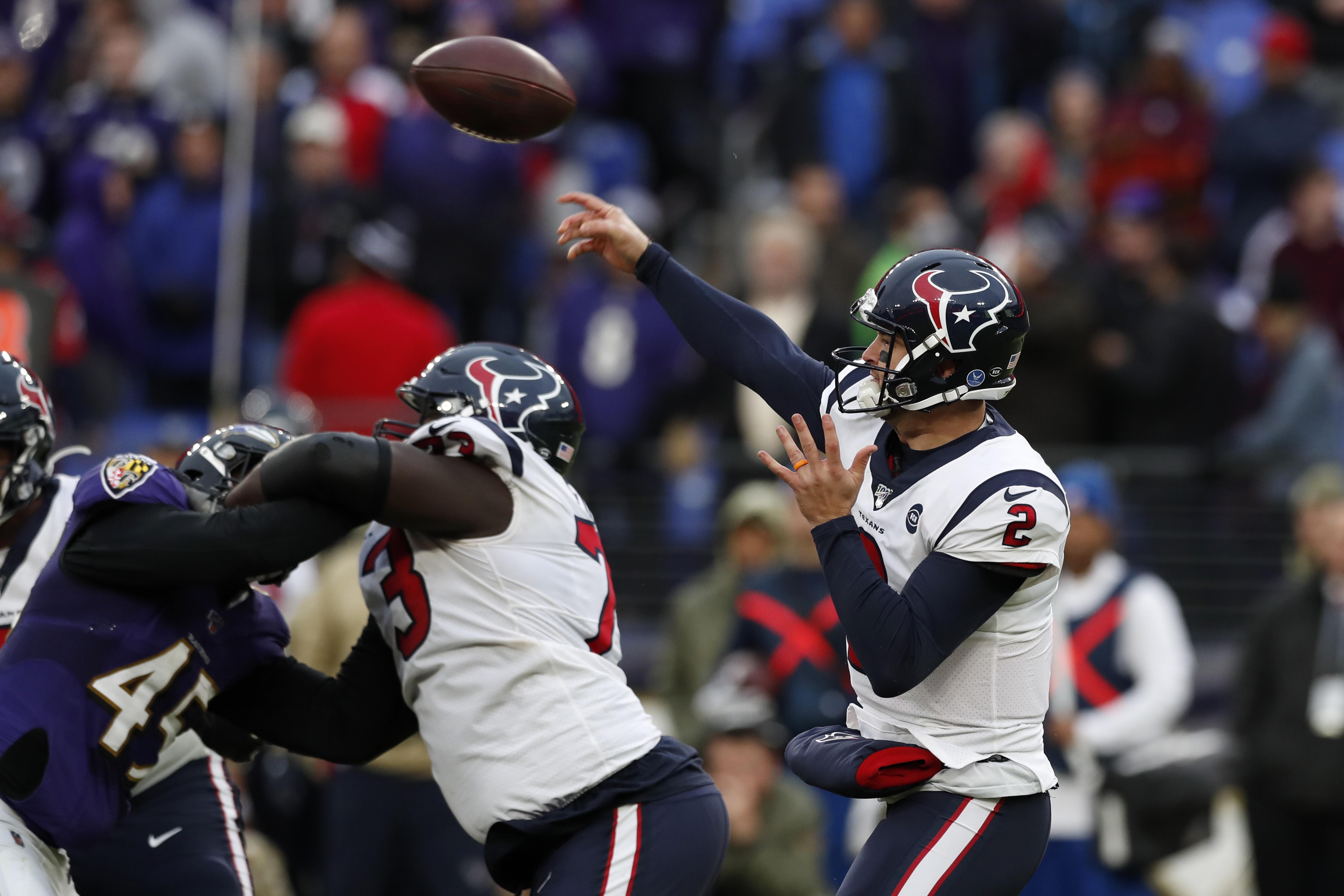 Houston Texans vBaltimore Ravens