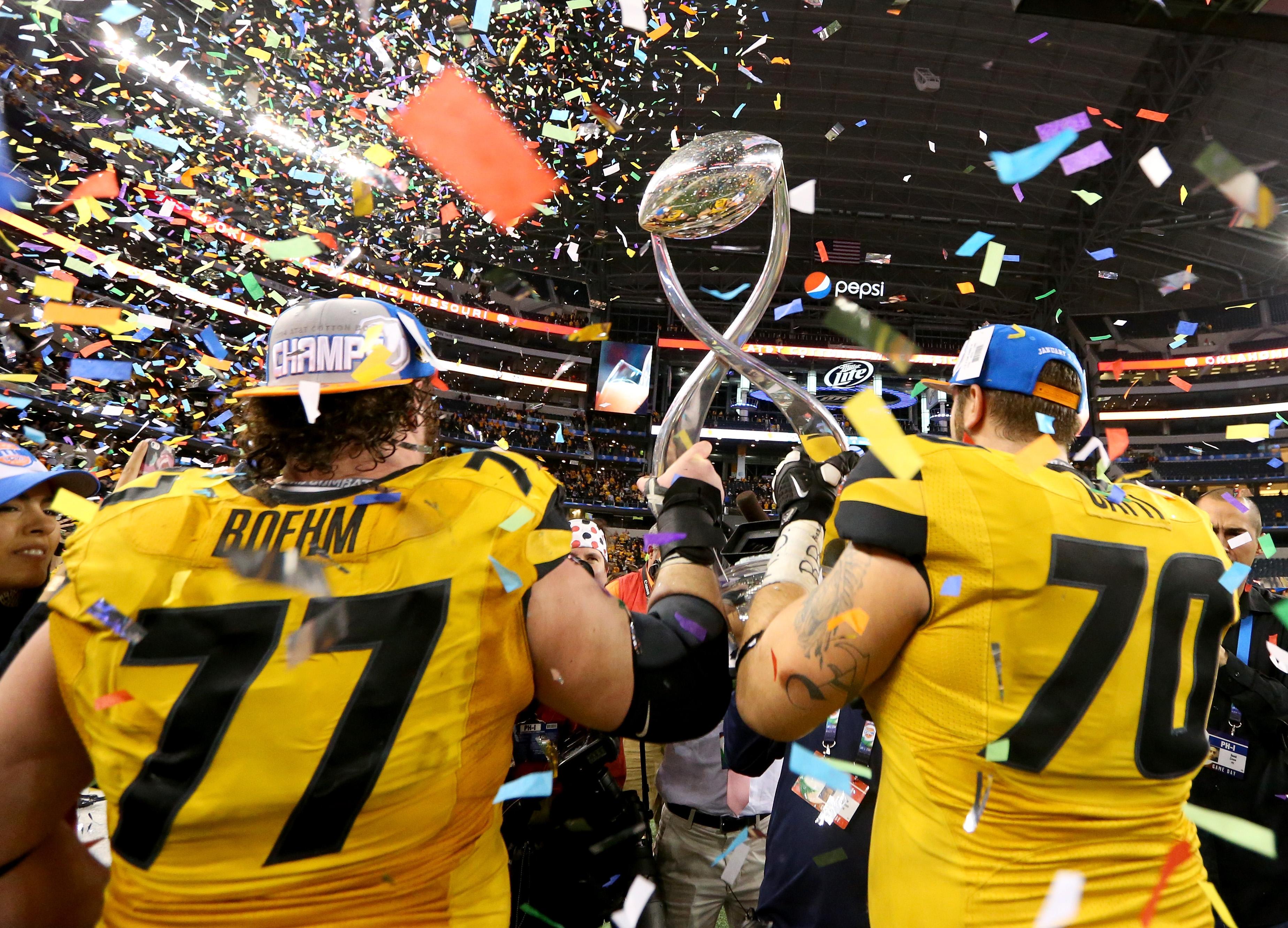 AT&T Cotton Bowl - Oklahoma State v Missouri