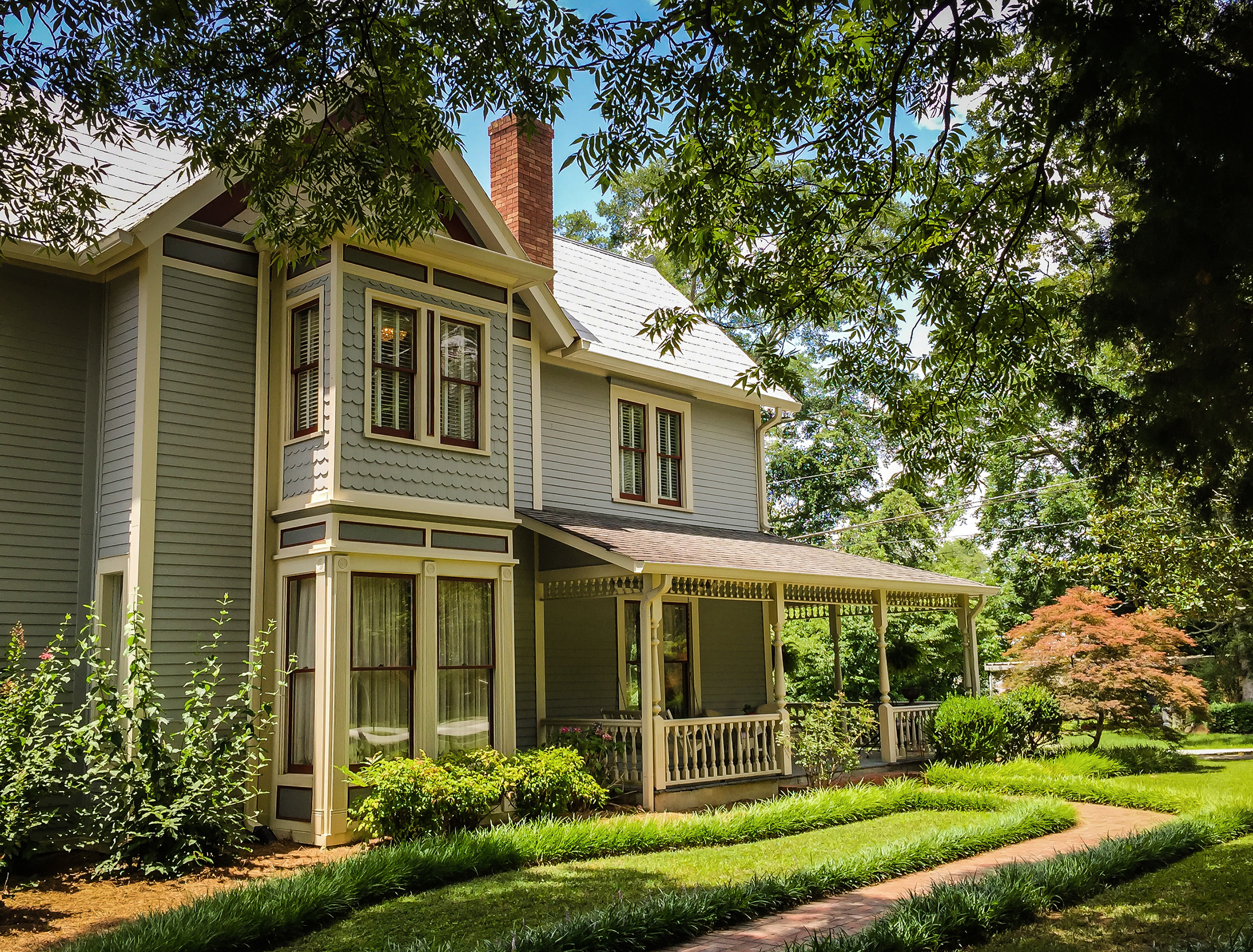 Southern Victorian home.