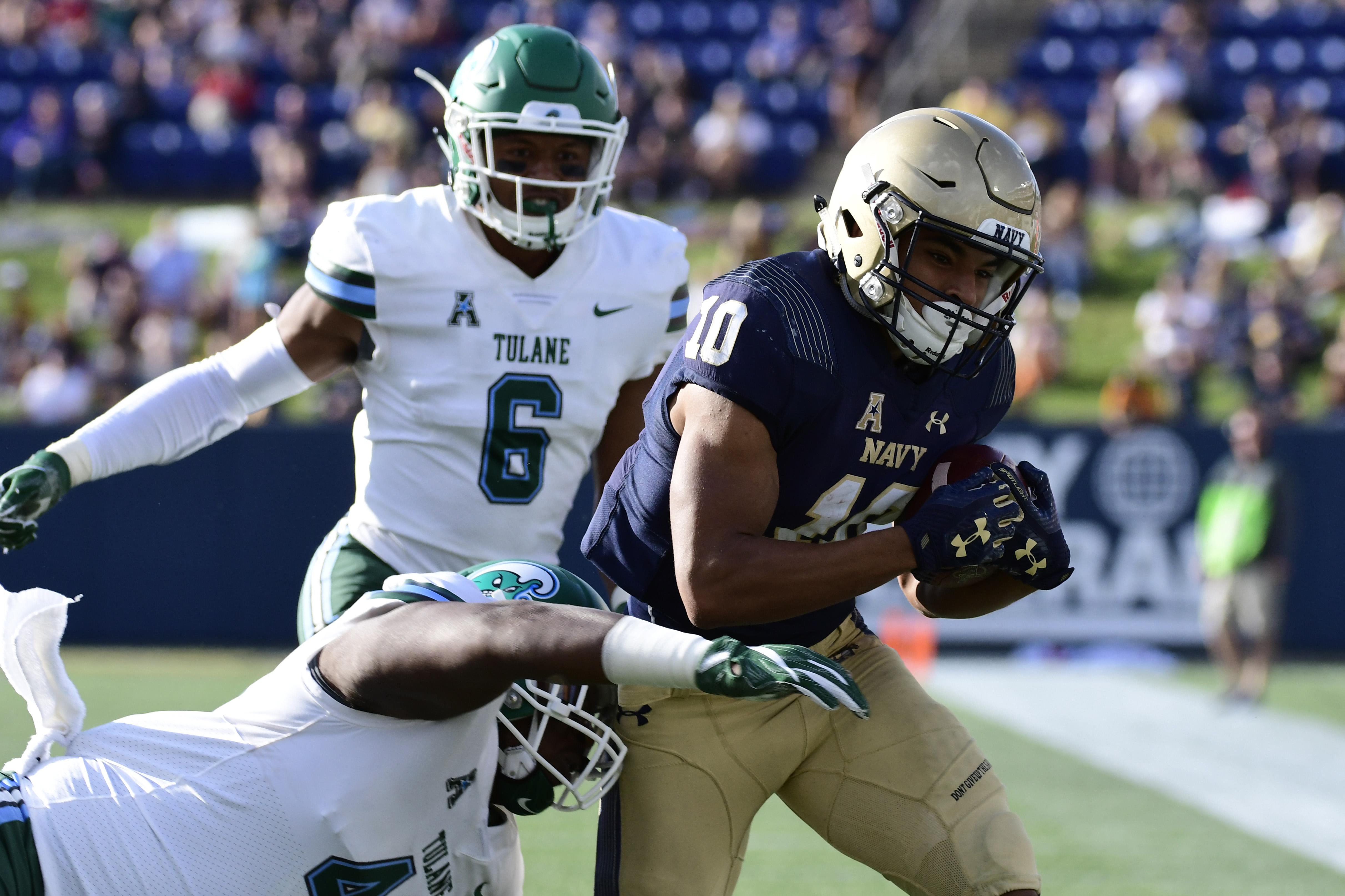NCAA Football: Tulane at Navy
