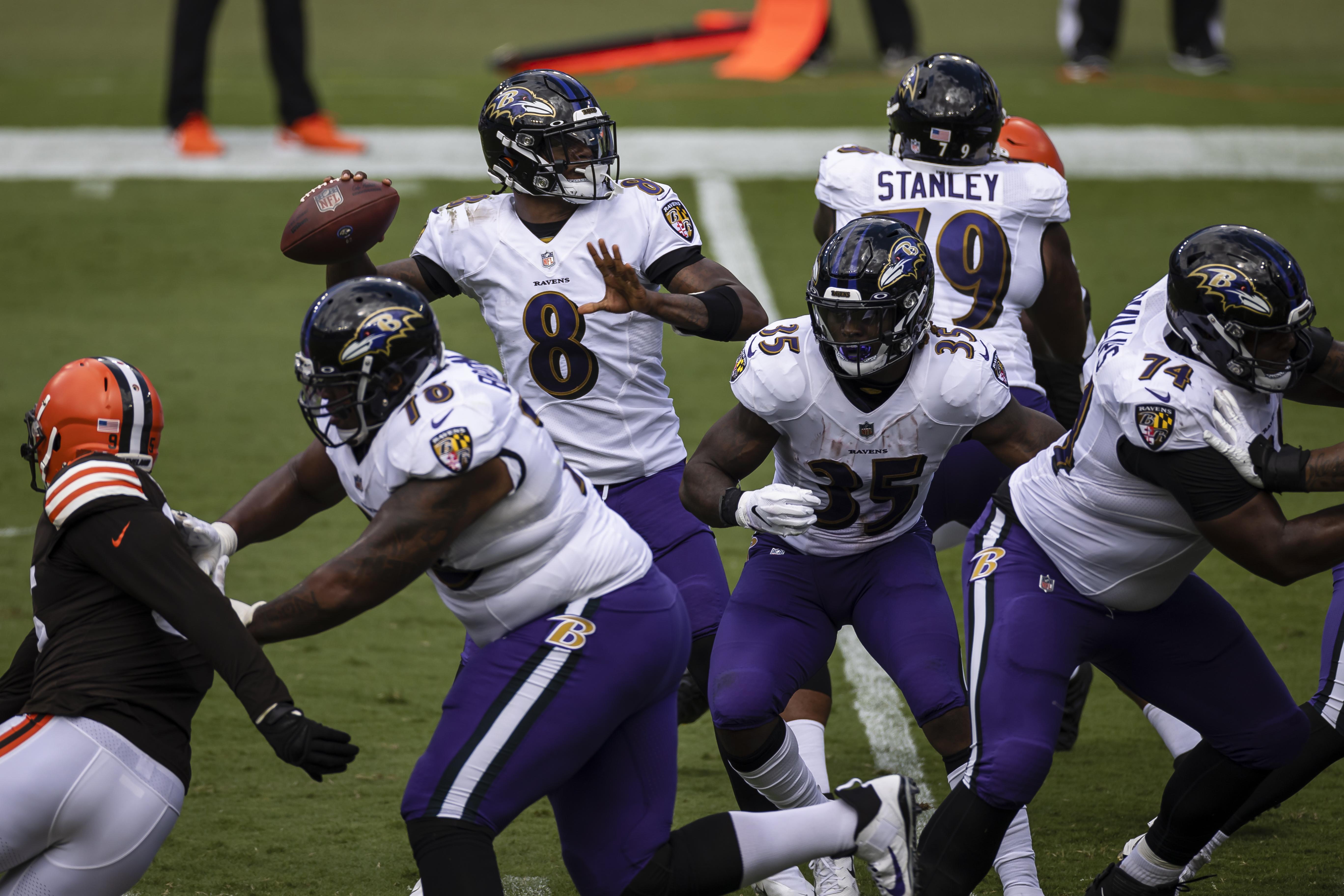 Cleveland Browns v Baltimore Ravens