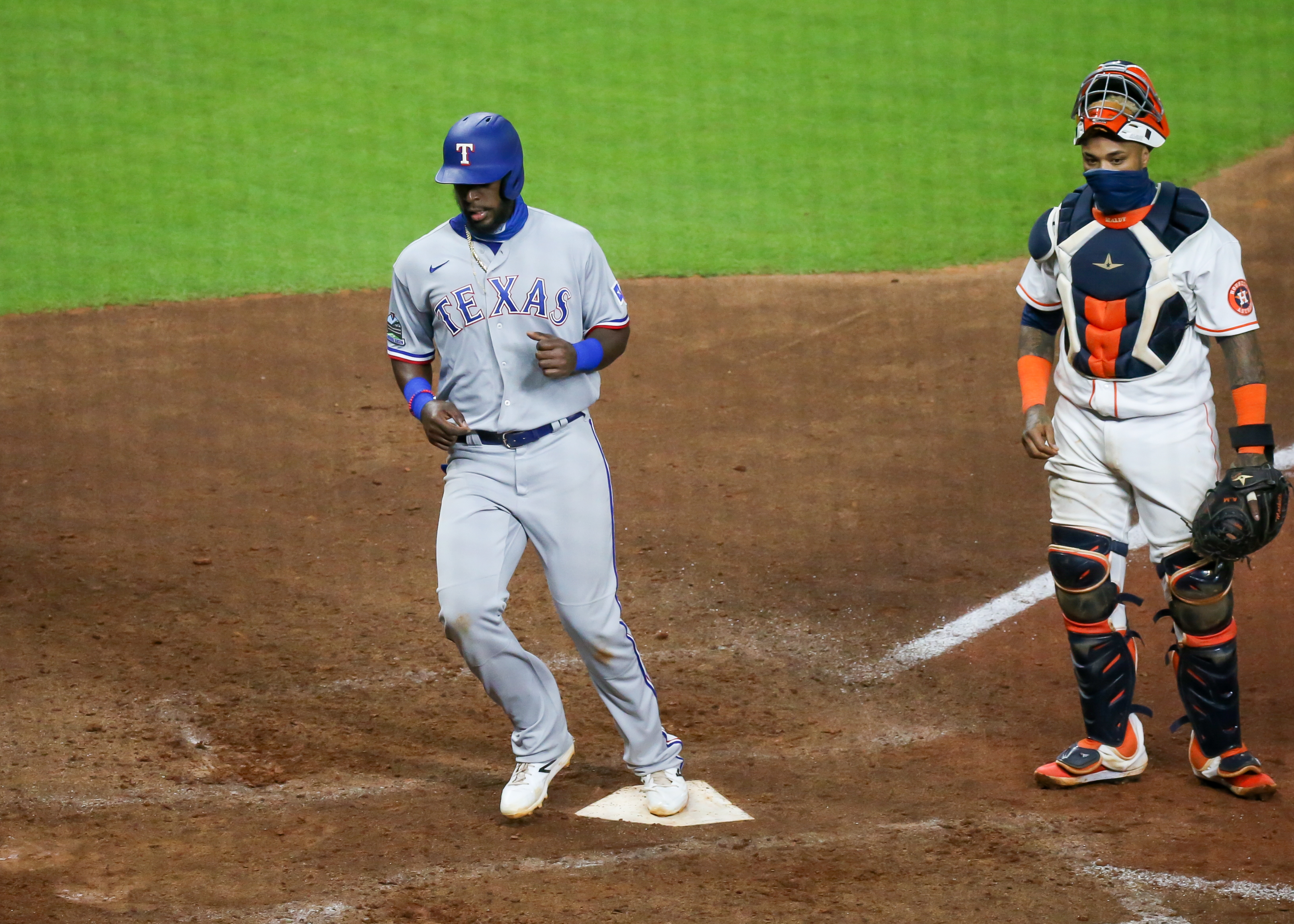 MLB: SEP 17 Rangers at Astros