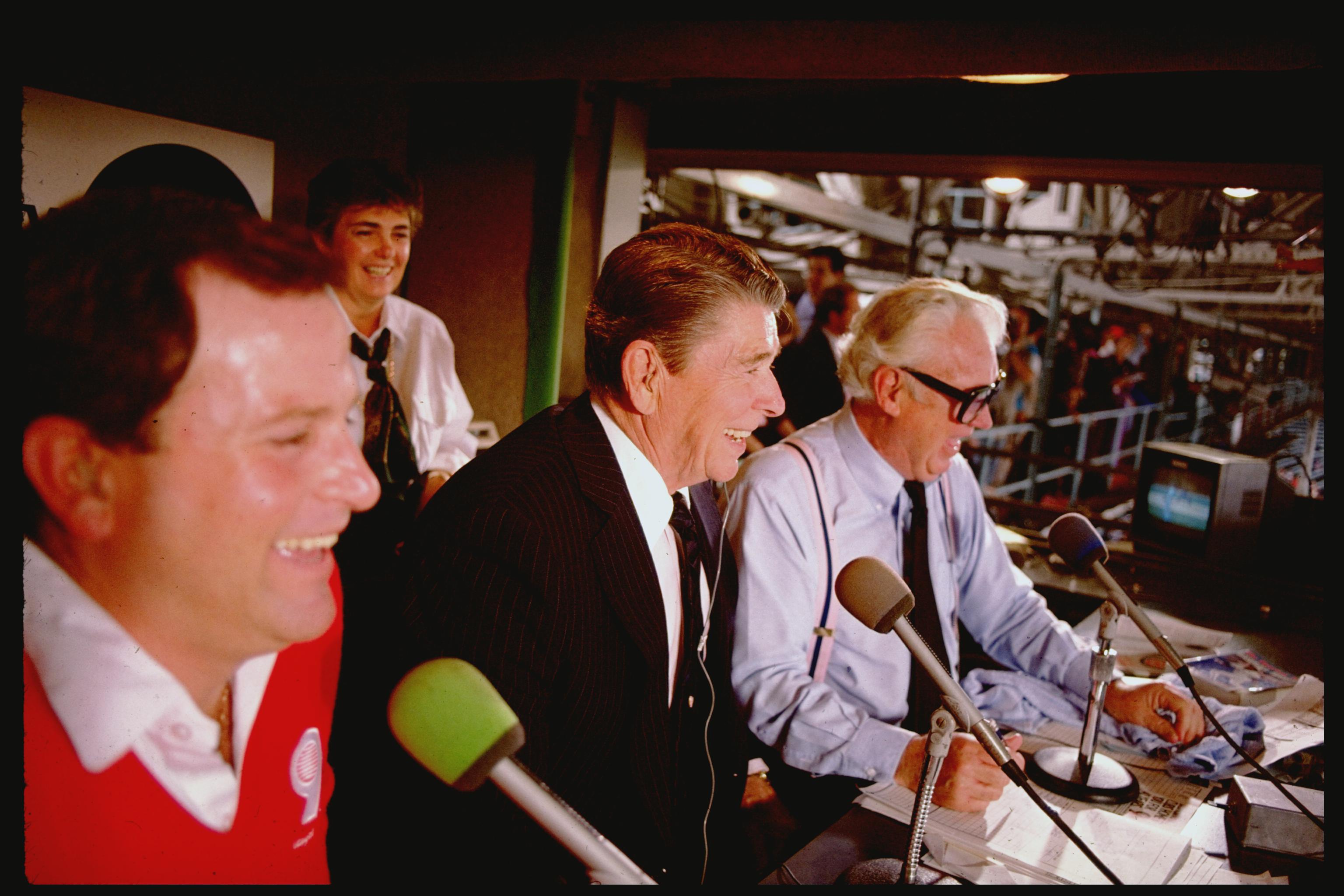 Ronald W. Reagan;Harry Caray