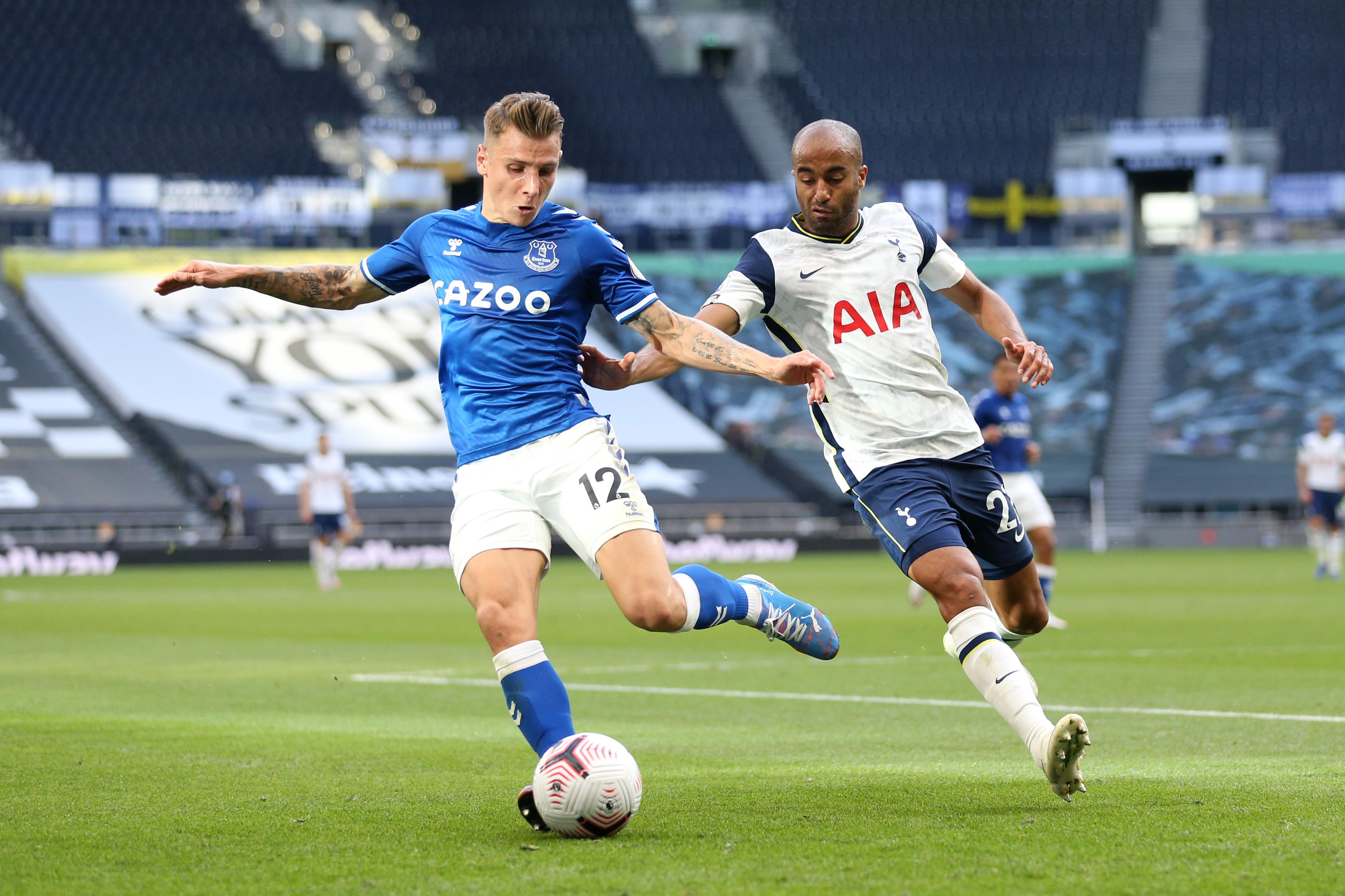 Lucas Digne - Everton - Premier League