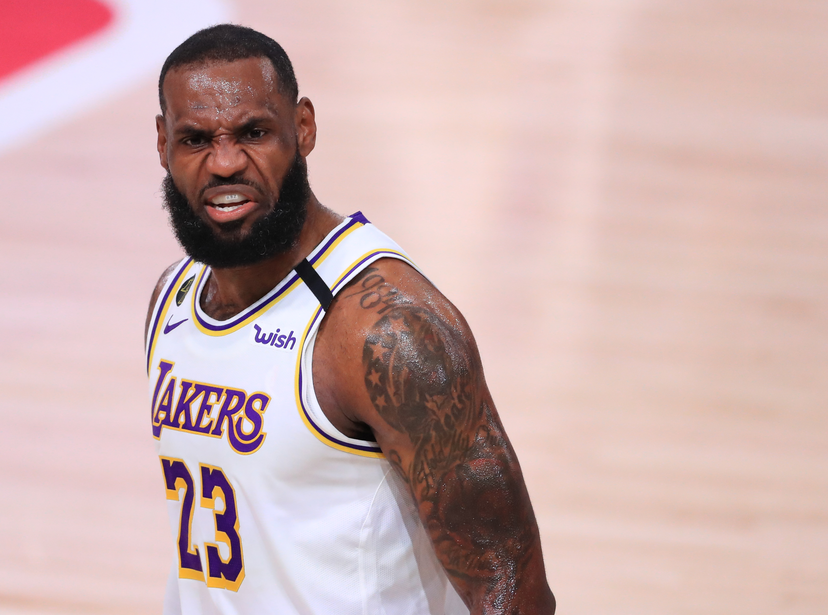 Houston Rockets v Los Angeles Lakers - Game Five