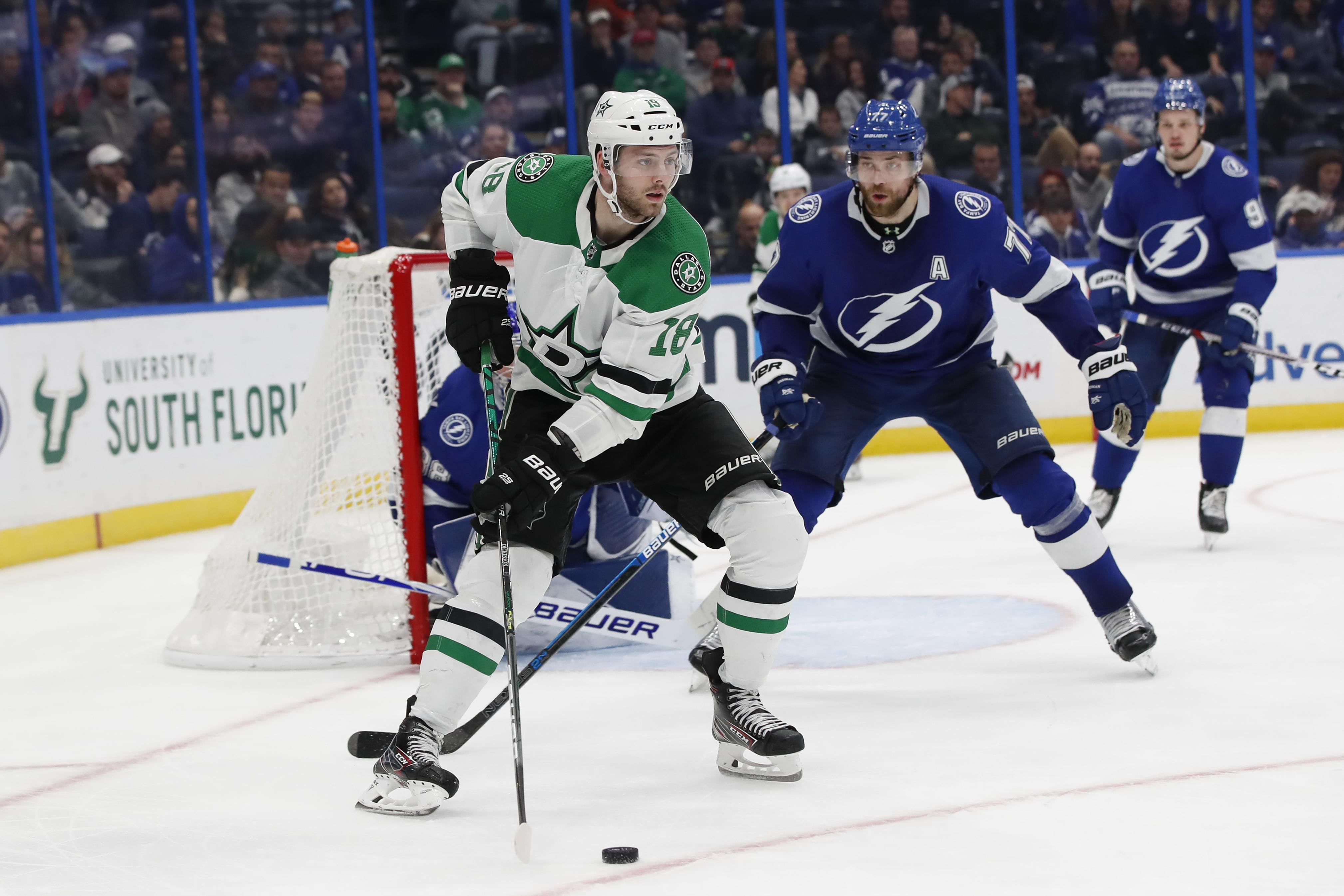 NHL: DEC 19 Stars at Lightning