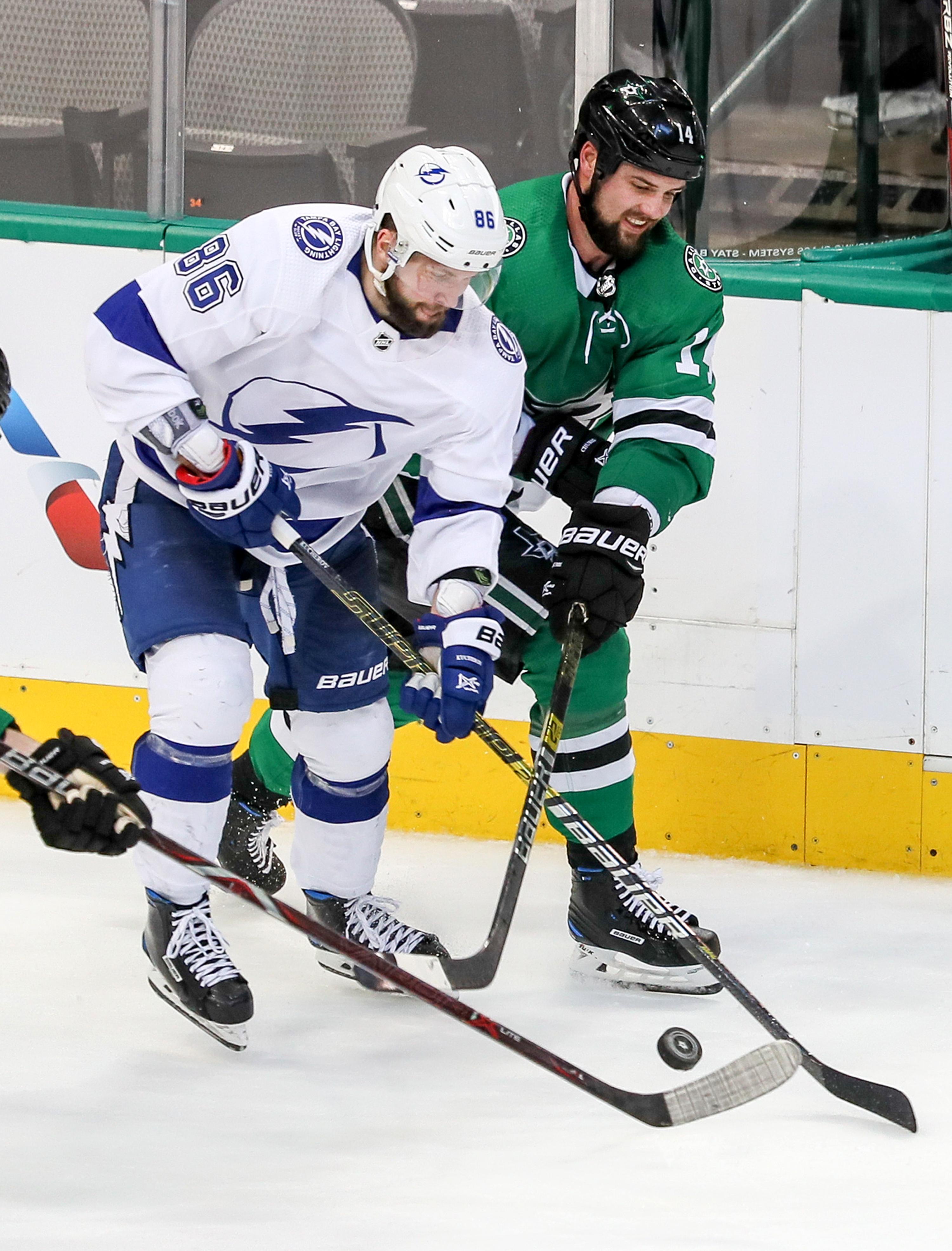 NHL: JAN 15 Lightning at Stars