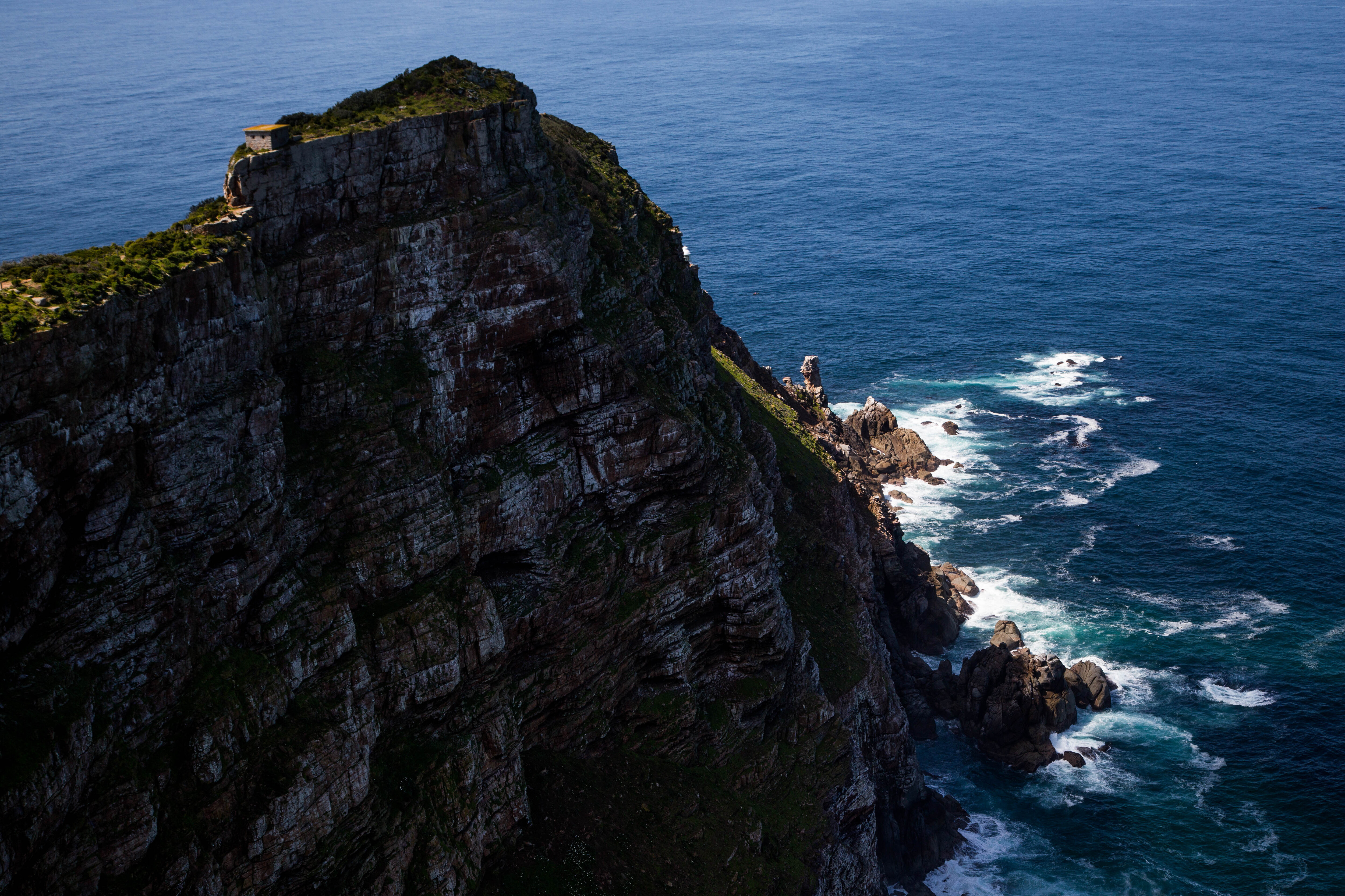 A view of the Cape Point...