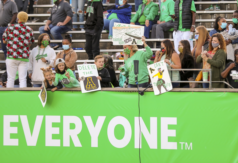 NCAA Football: Appalachian State at Marshall