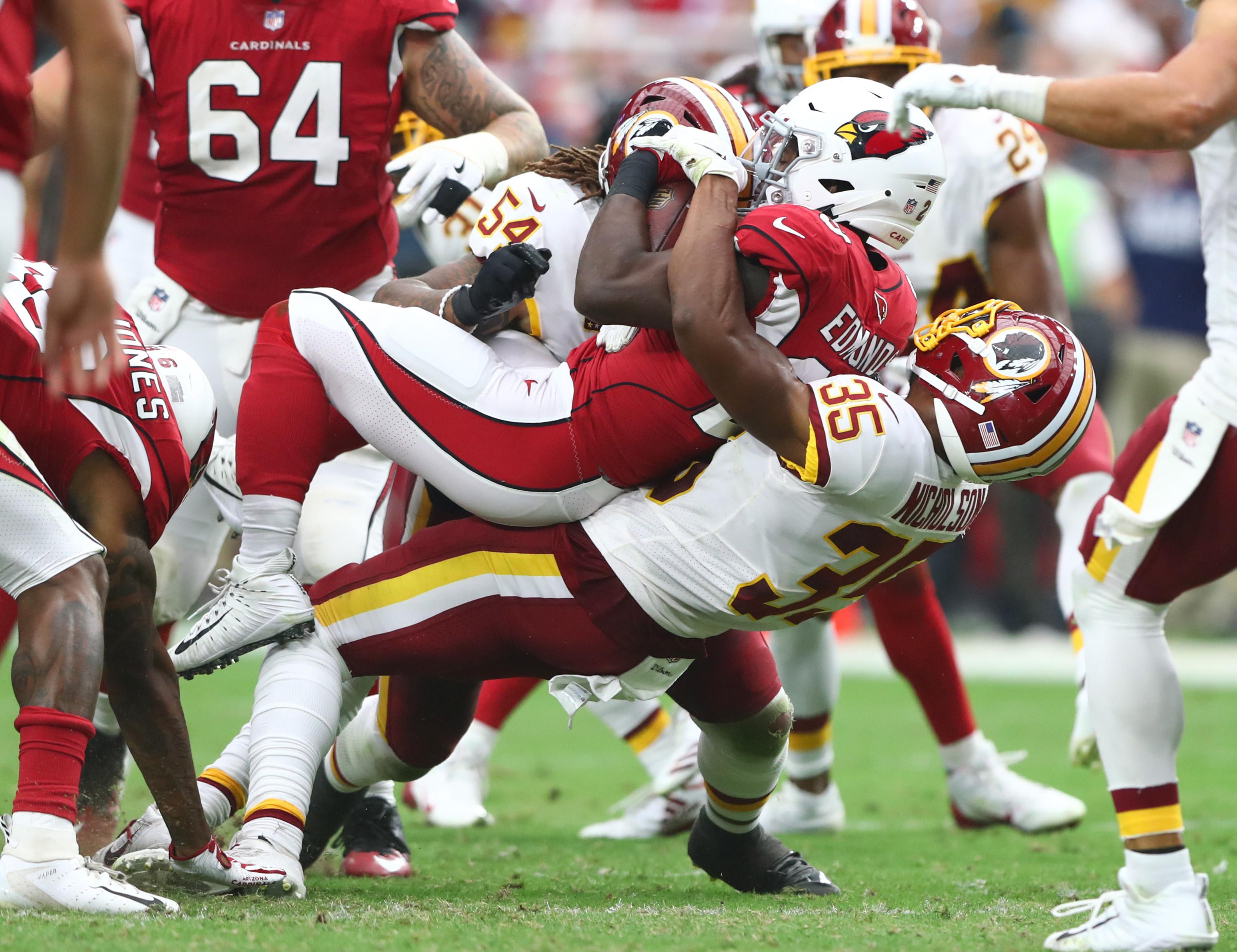 NFL: Washington Redskins at Arizona Cardinals