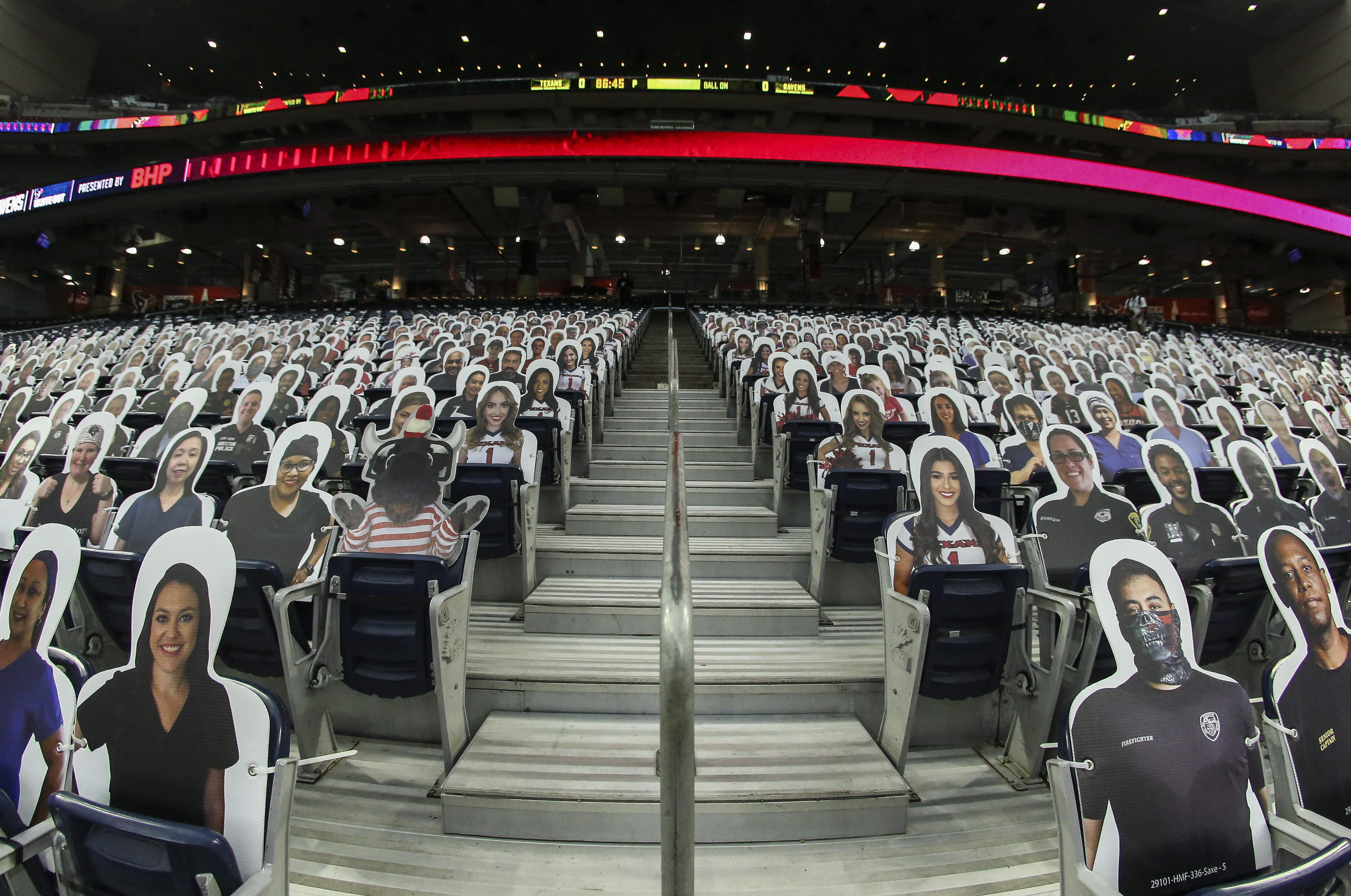 NFL: Baltimore Ravens at Houston Texans