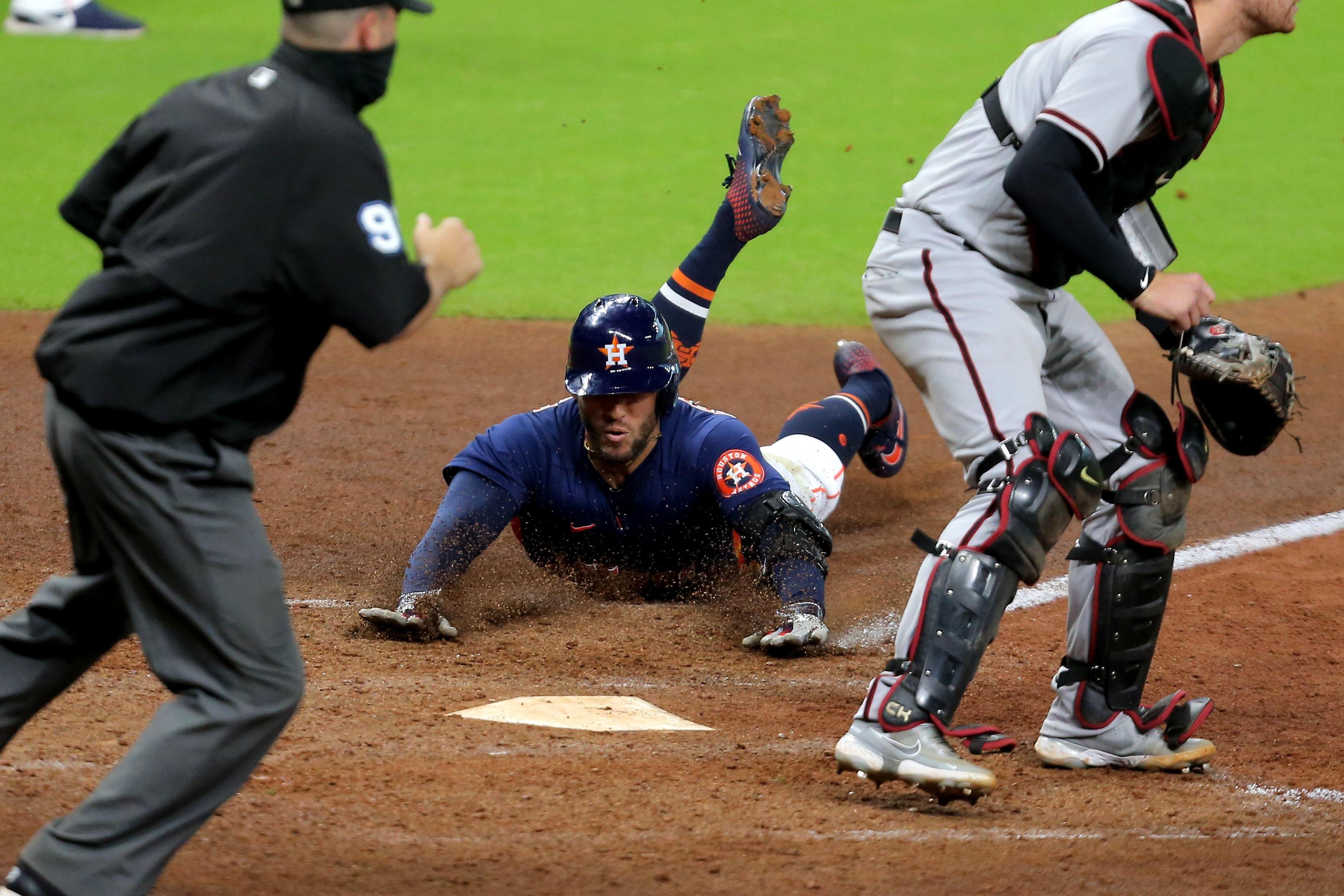 MLB: Arizona Diamondbacks at Houston Astros