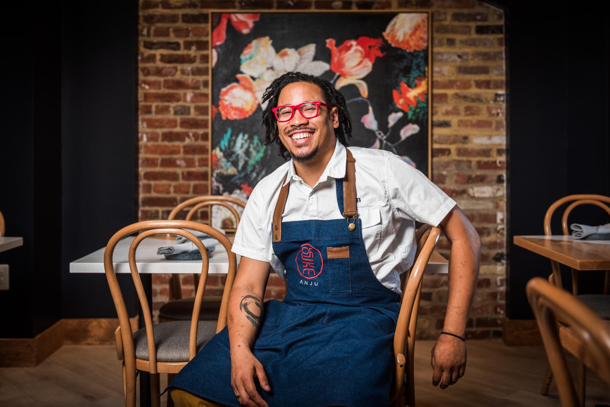 Anju chef Angel Barreto