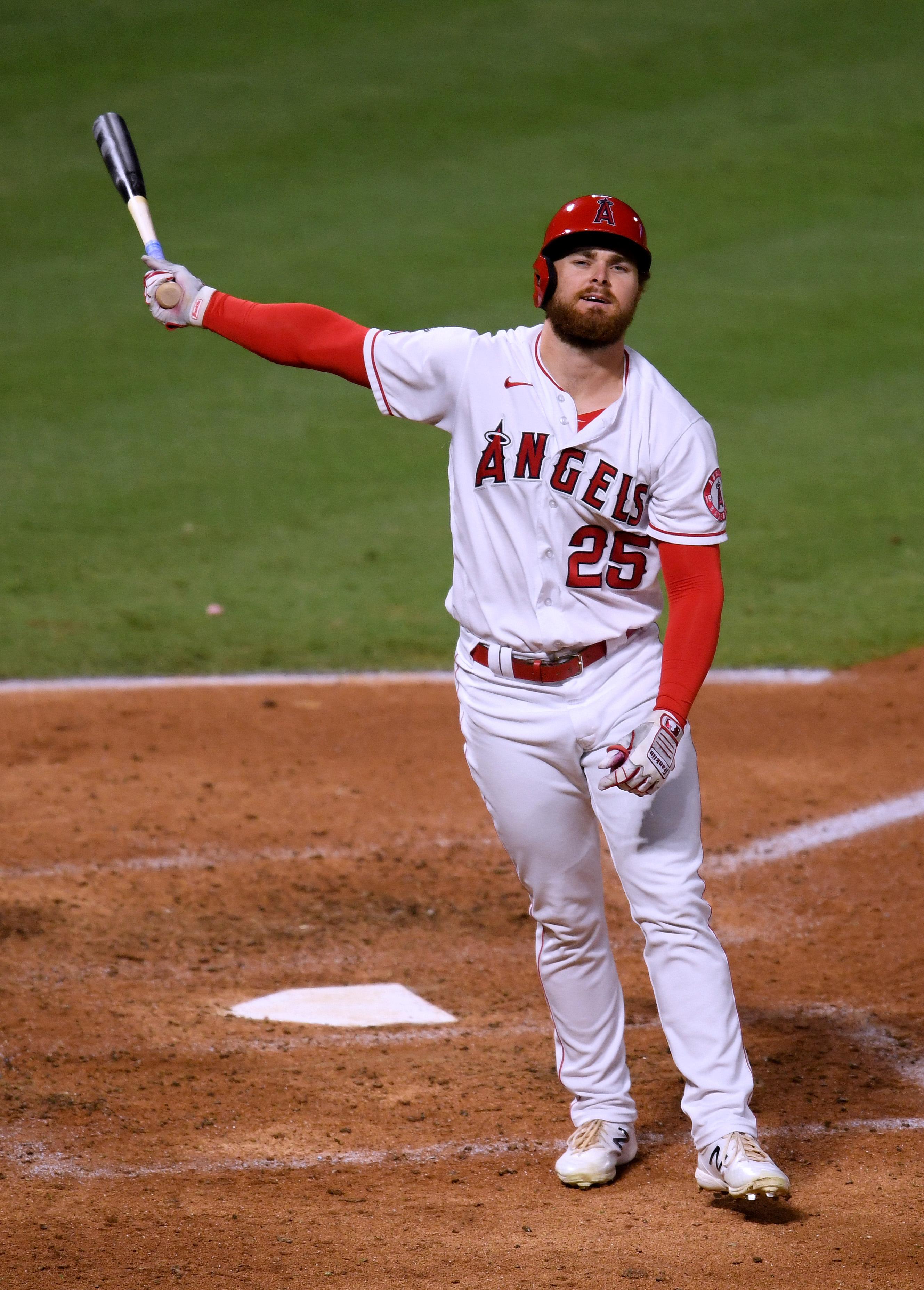 Texas Rangers v Los Angeles Angels