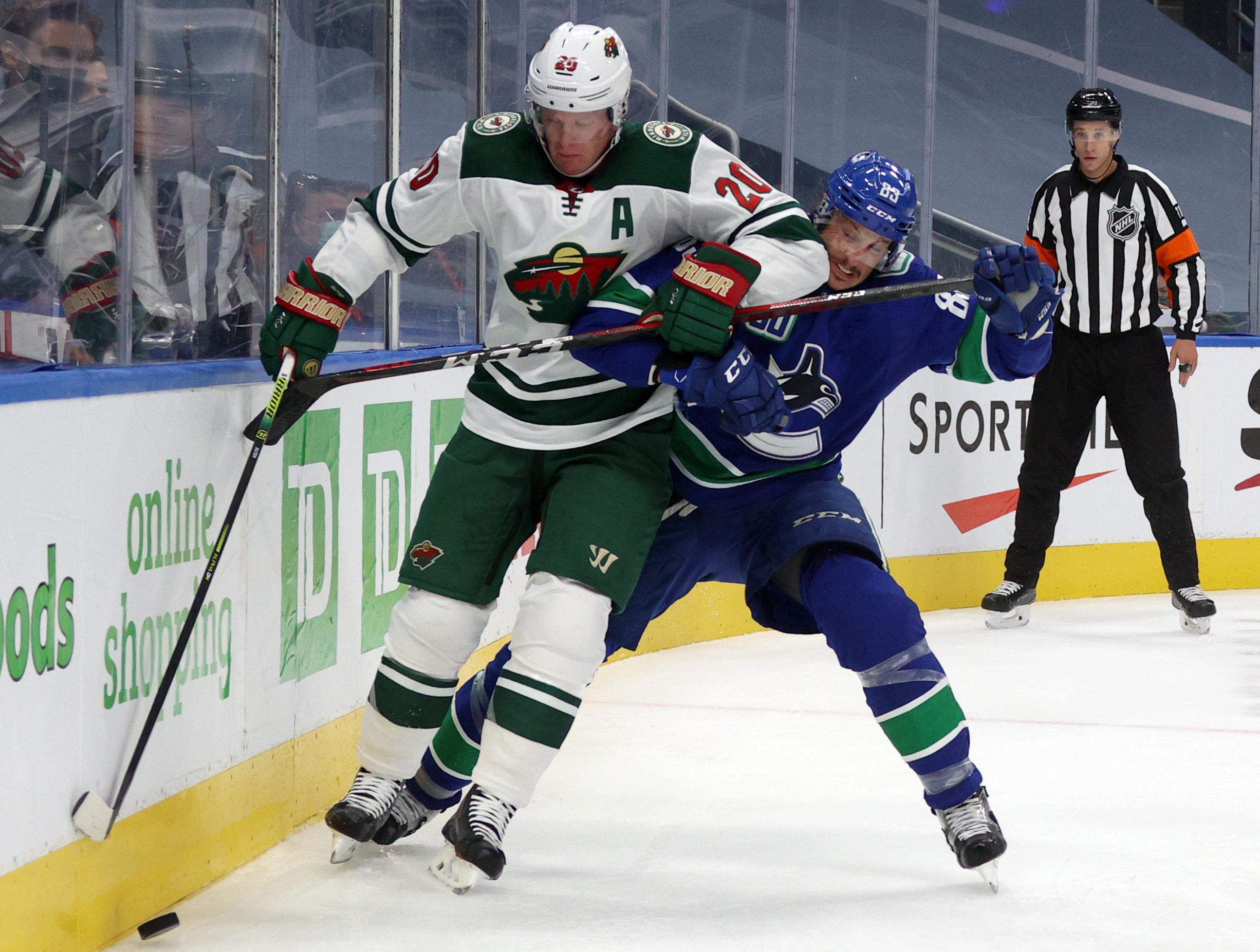 Minnesota Wild v Vancouver Canucks - Game One