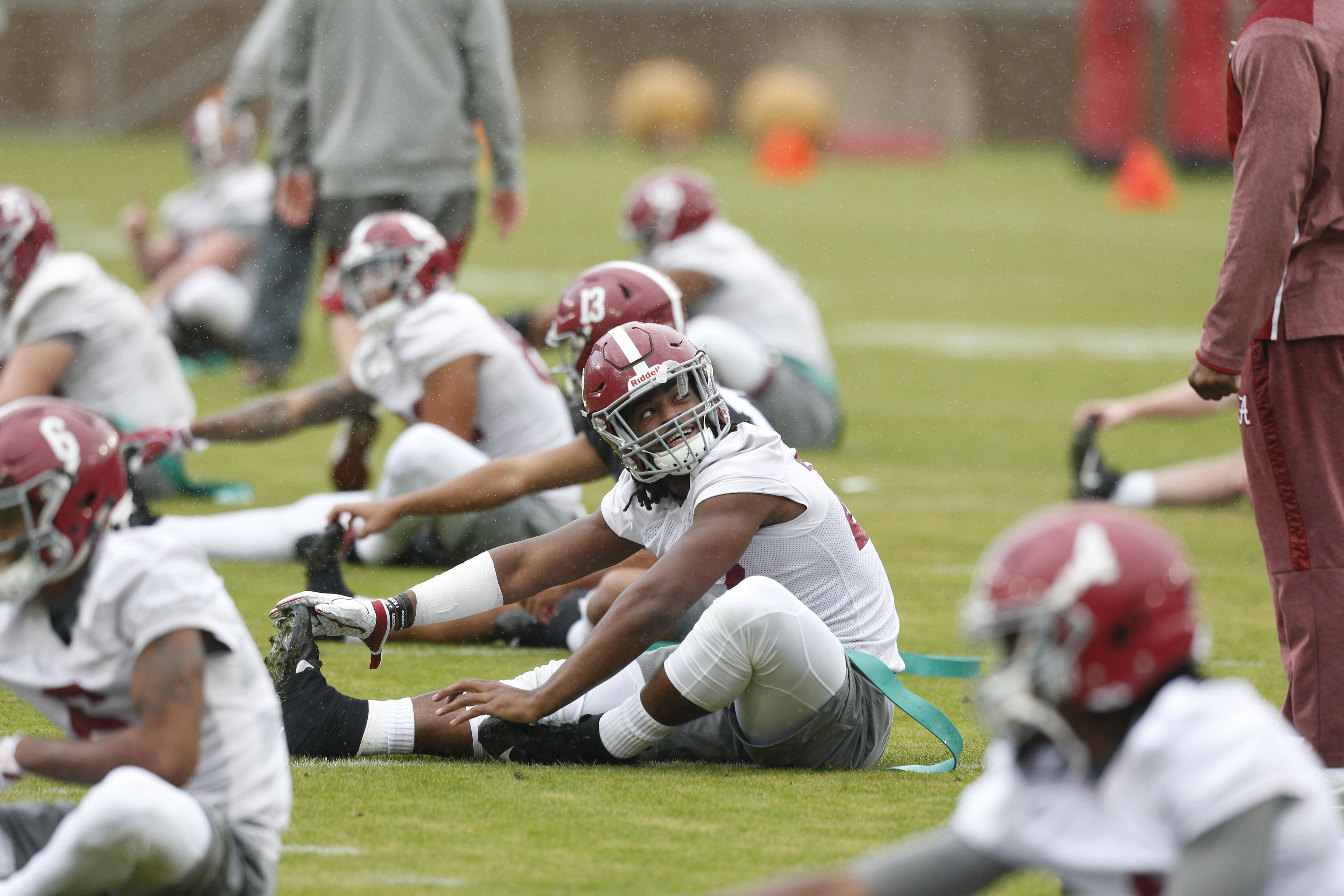 NCAA Football: College Football Playoff-Alabama Practice