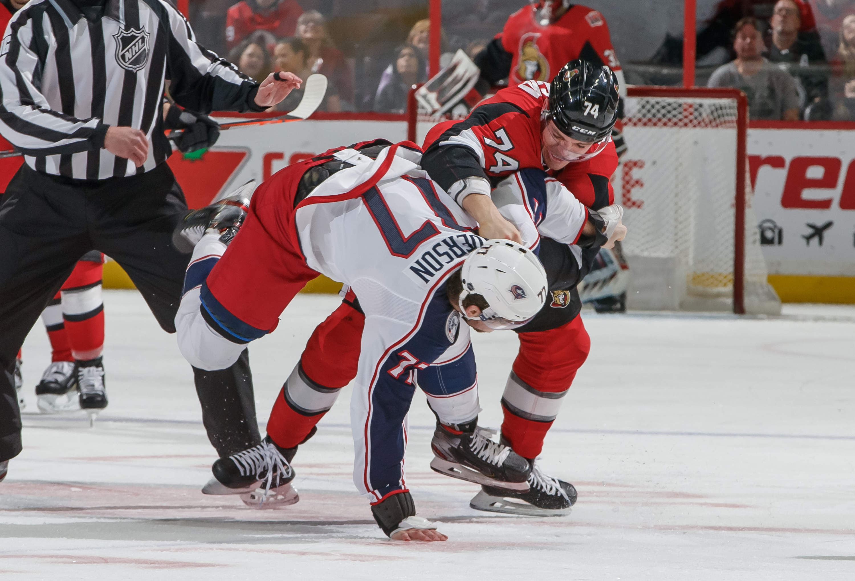 Columbus Blue Jackets v Ottawa Senators