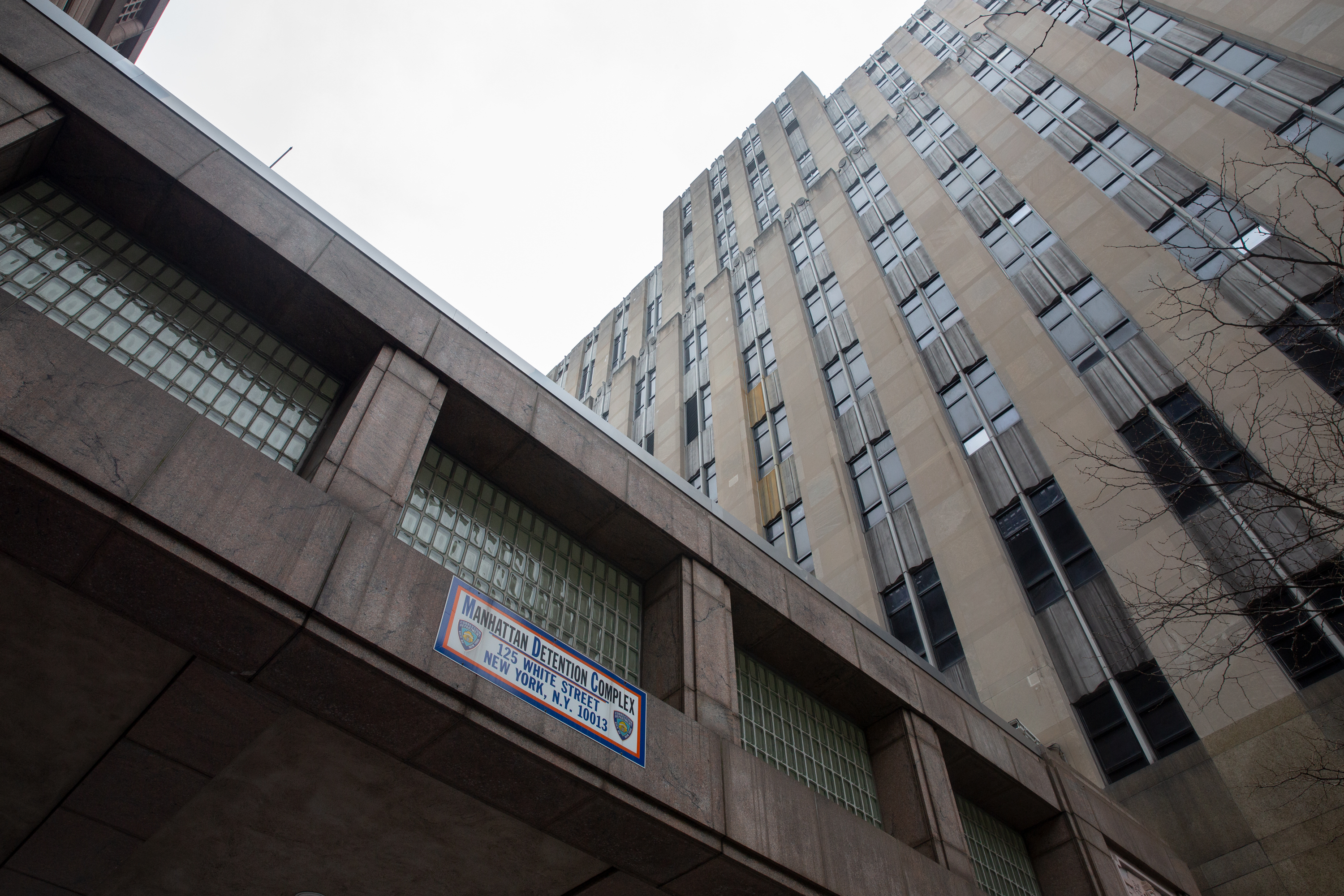 """The Manhattan Detention Complex, known as """"The Tombs,"""" would be replaced in the mayor's new-jails plan."""