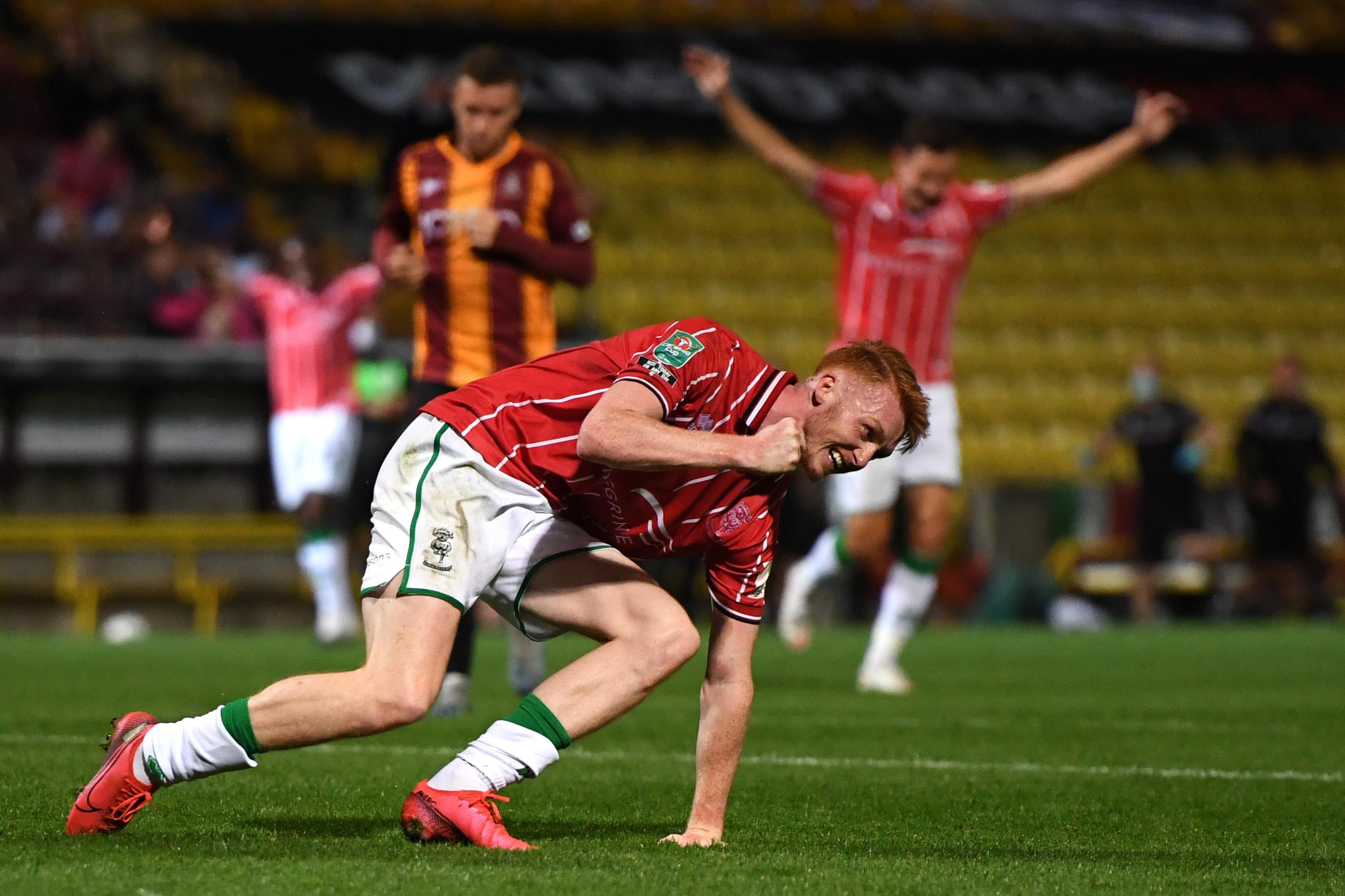 Bradford City v Lincoln City - Carabao Cup Second Round