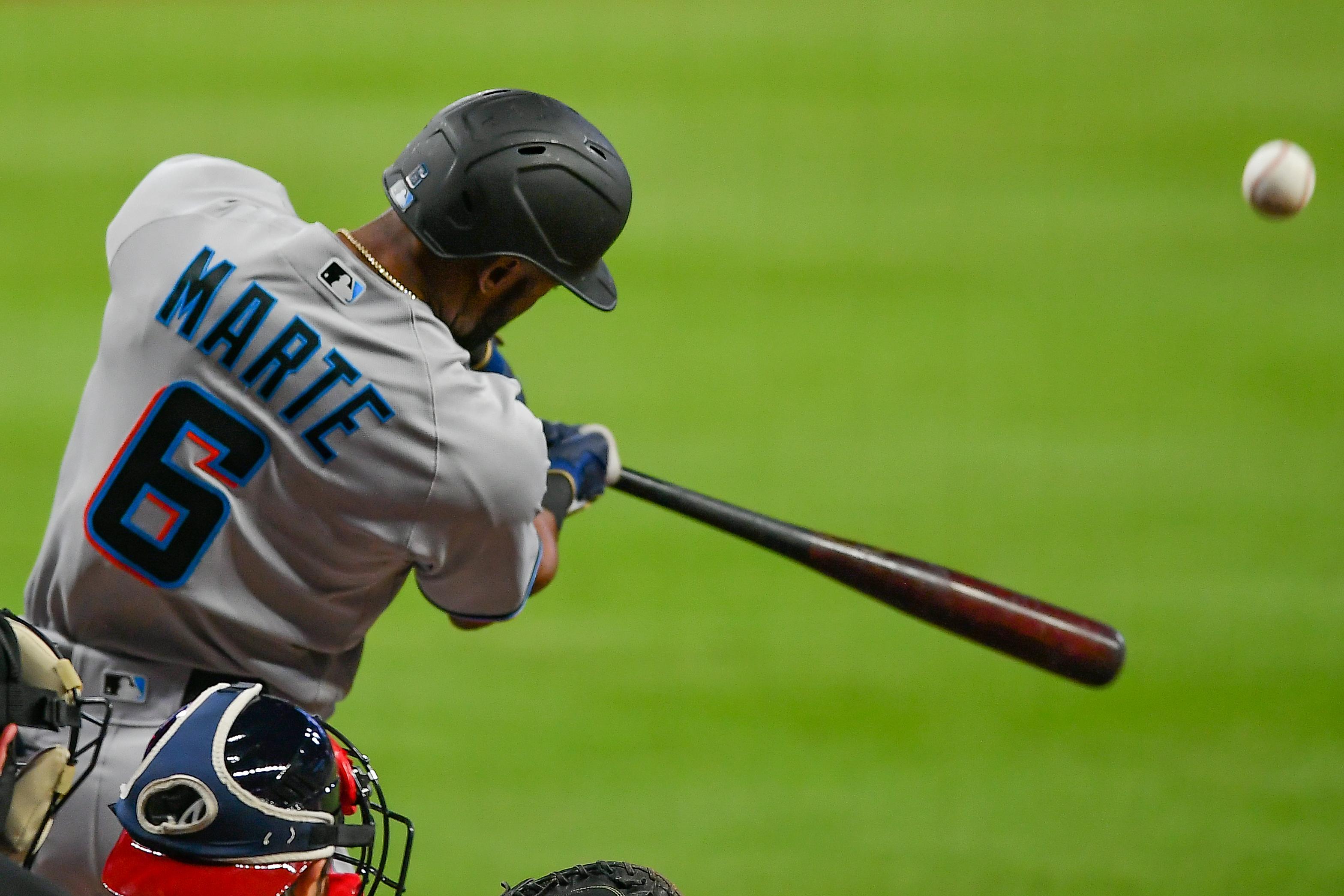 MLB: SEP 22 Marlins at Braves
