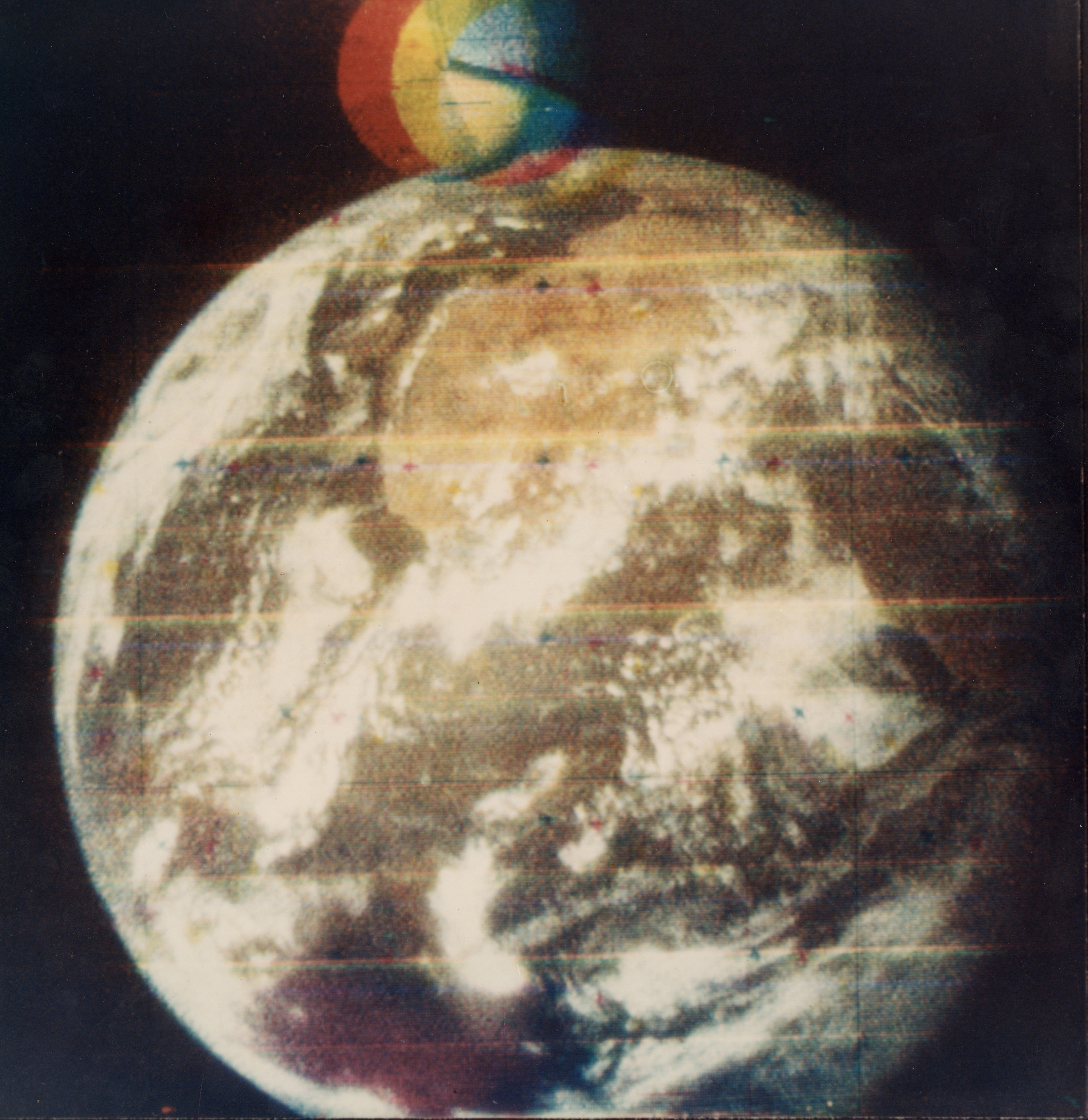 First Color Photo Of Earth From Space