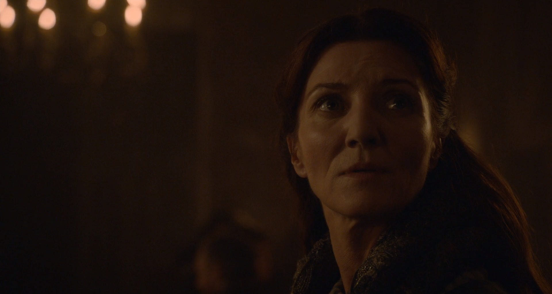 Catelyn Stark at the Red Wedding from Game of Thrones