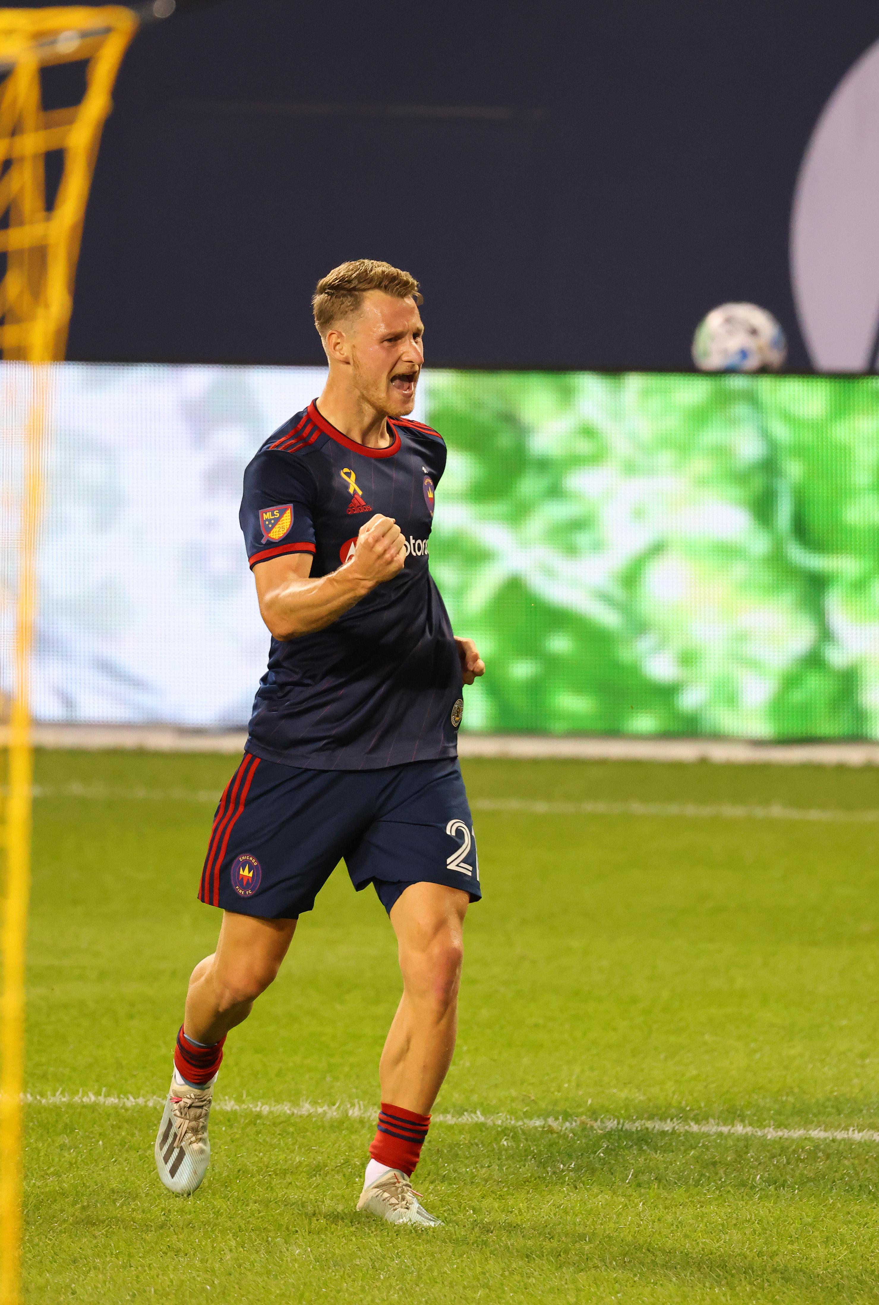MLS: Houston Dynamo at Chicago Fire