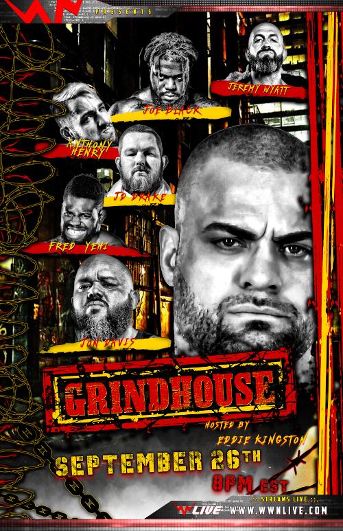 Poster for WWN Eddie Kingston's Grindhouse: Ground Zero