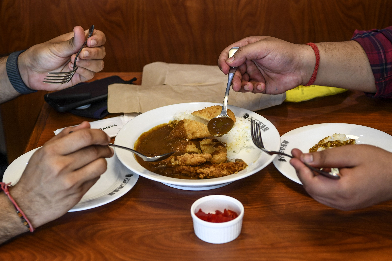 INDIA-JAPAN-LIFESTYLE-FOOD