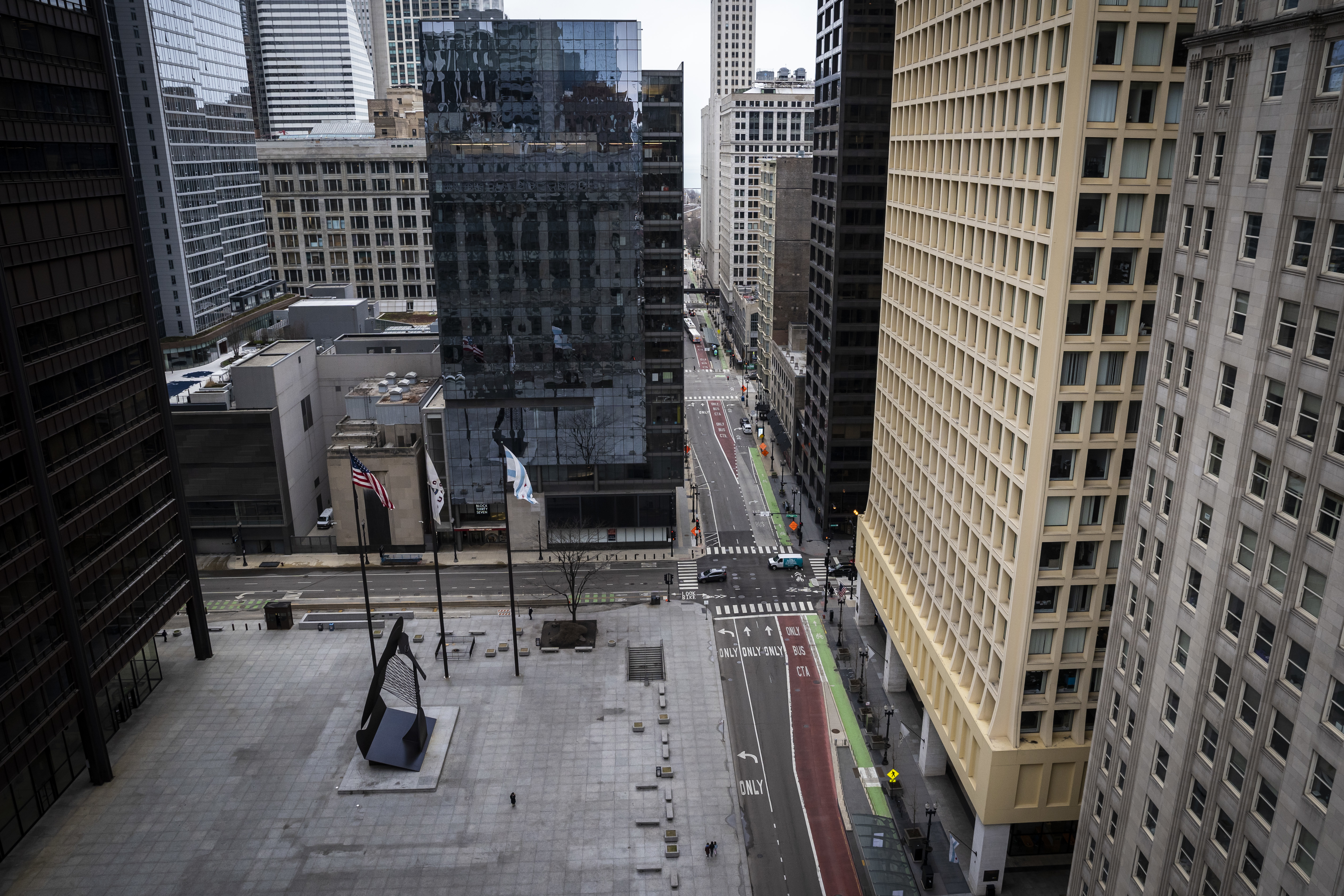 The Chicago economy is being hit hard by the global pandemic, and the cost is likely to exceed half a billion dollars, according to the city's chief financial officer.