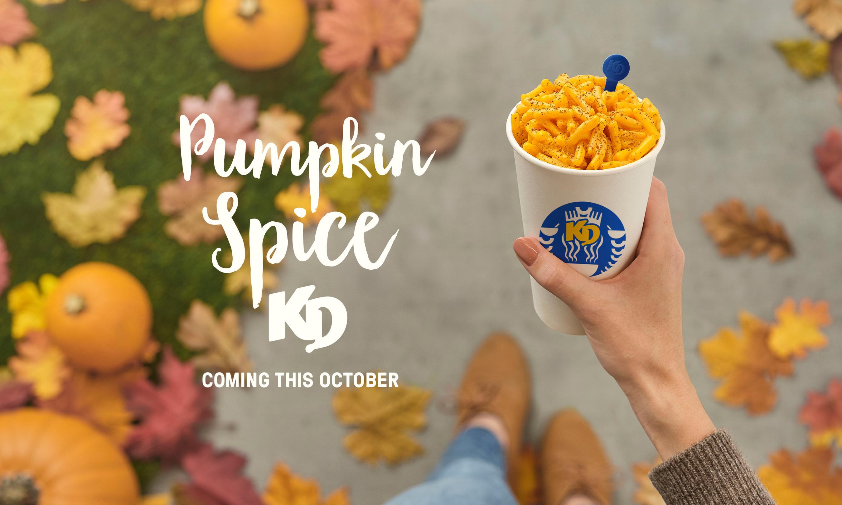 Kraft Dinner launches new #PumpkinSpiceKD this October.