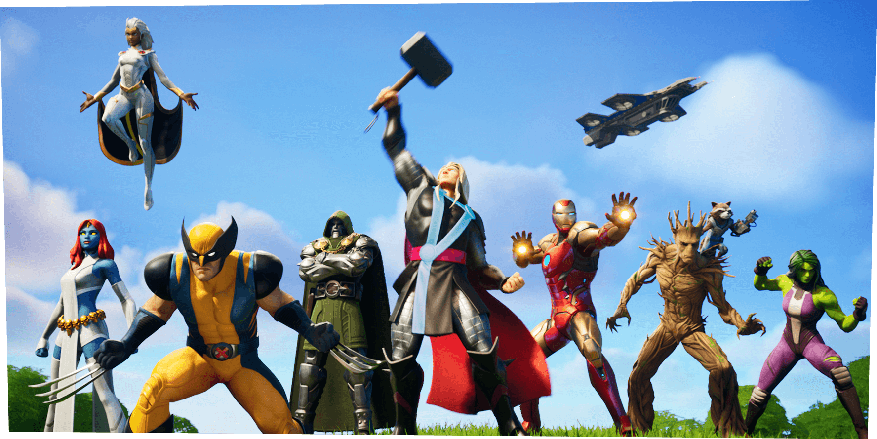 The latest season of 'Fortnite' brings Marvel to the battle royale planet.