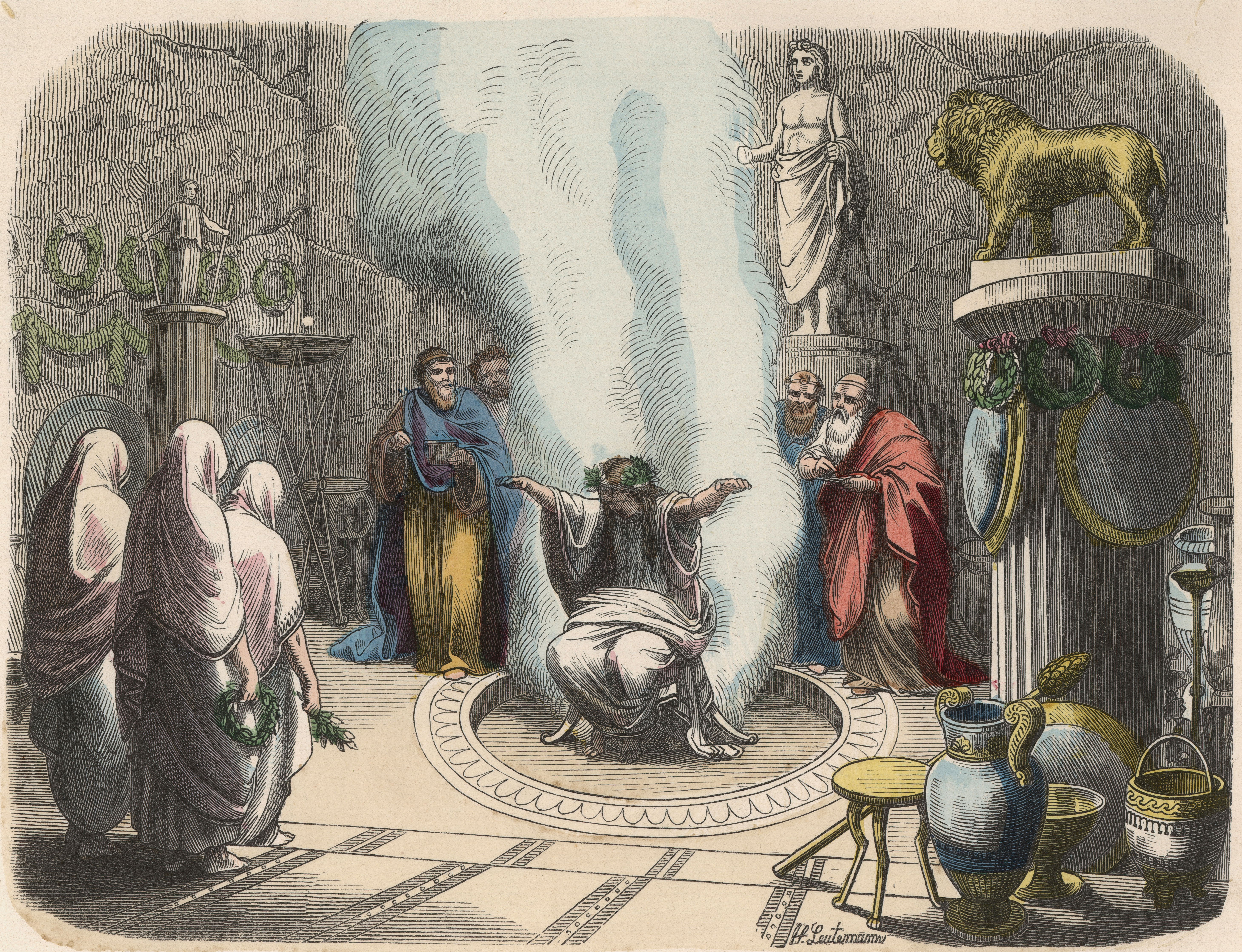 The Oracle at Delphi...